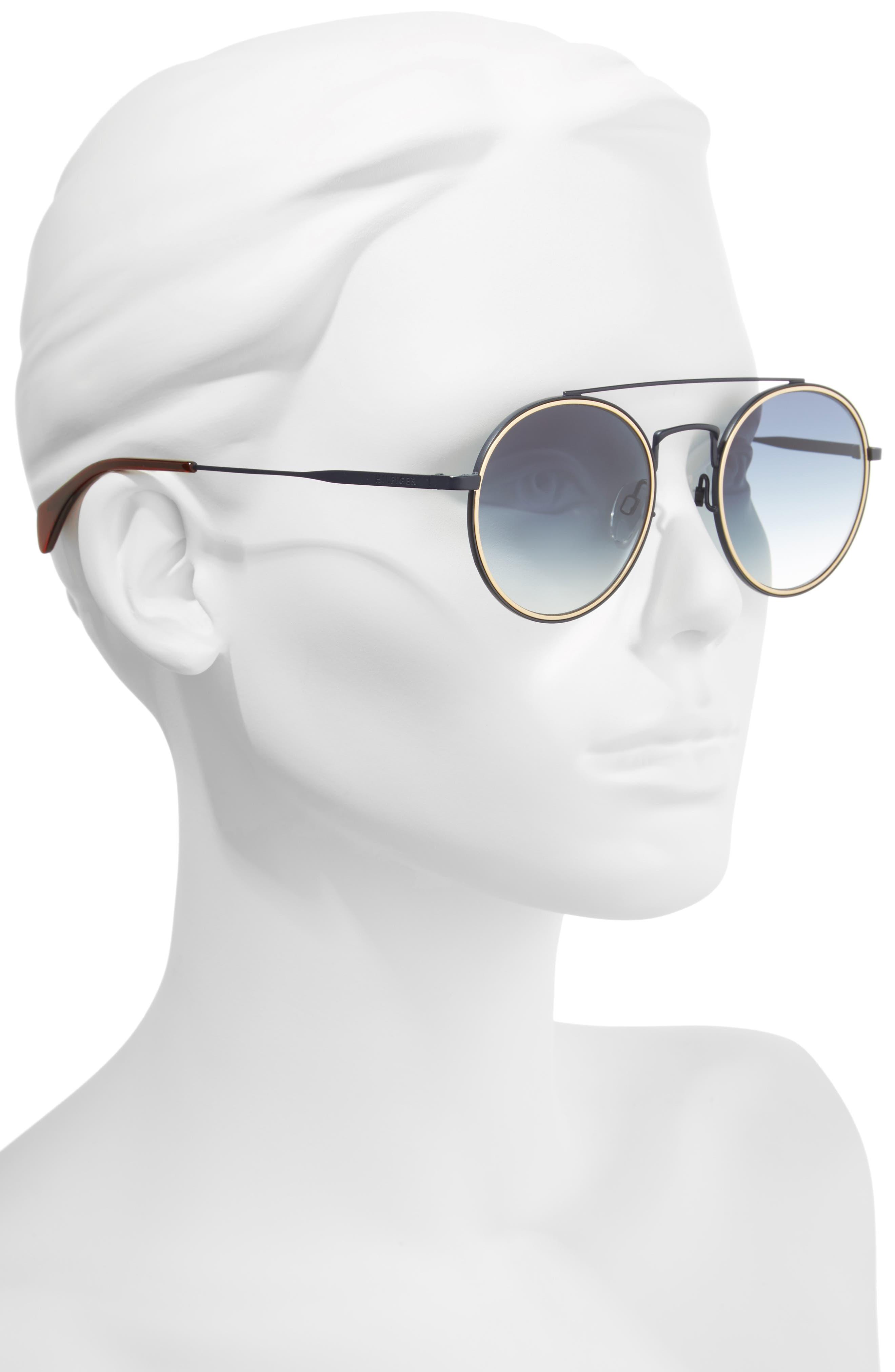 Alternate Image 2  - Tommy Hilfiger 53mm Round Sunglasses