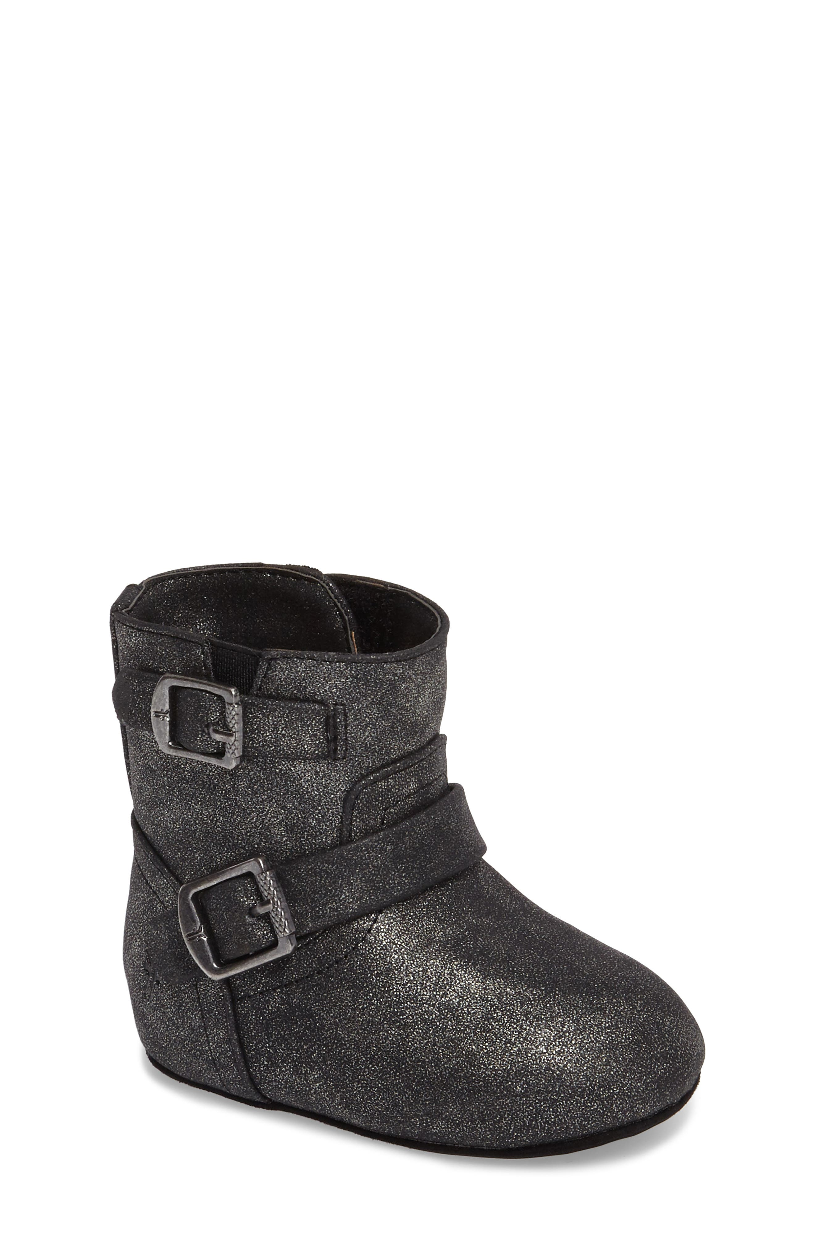 Baby Engineer Boot,                         Main,                         color, Pewter Metallic