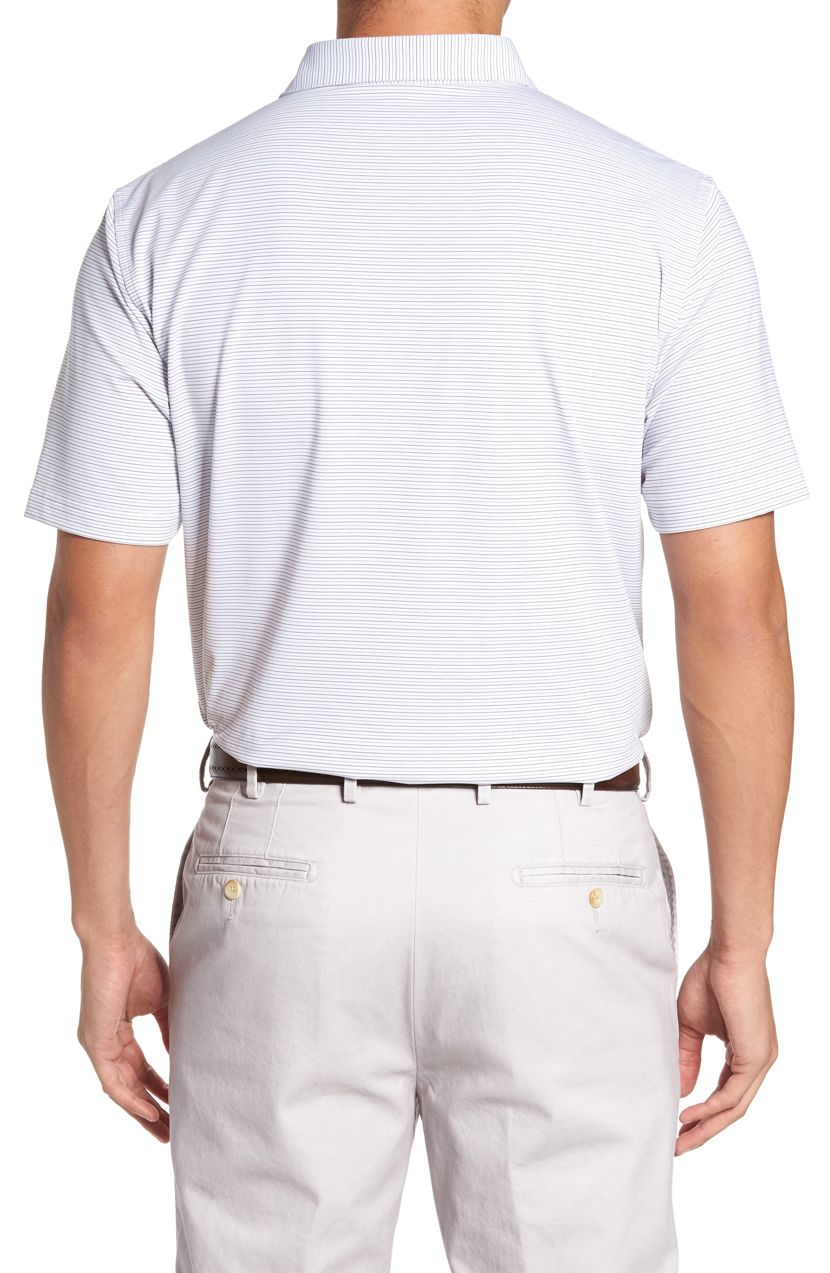 Alternate Image 2  - Peter Millar Chesapeake Stripe Stretch Jersey Polo