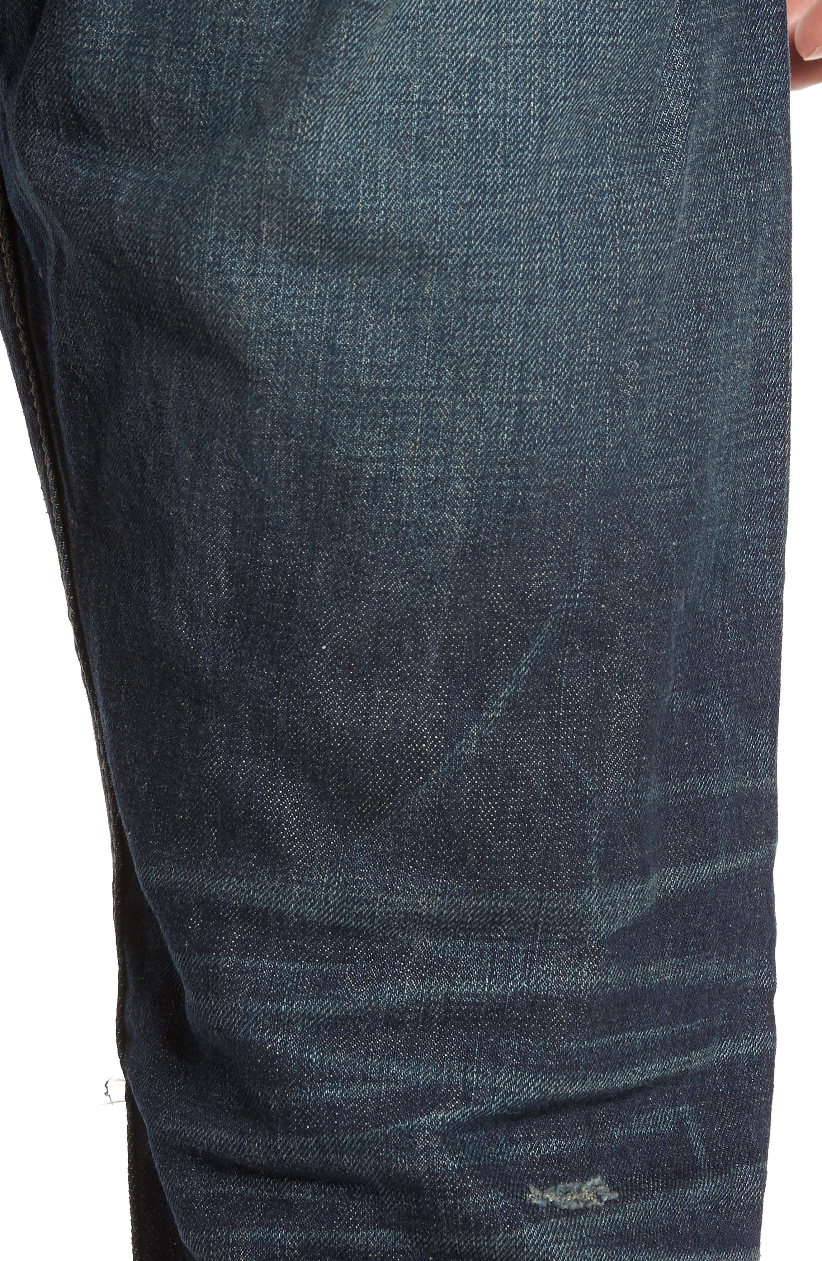 Alternate Image 5  - rag & bone Fit 2 Slim Fit Jeans (Zeitgeist)