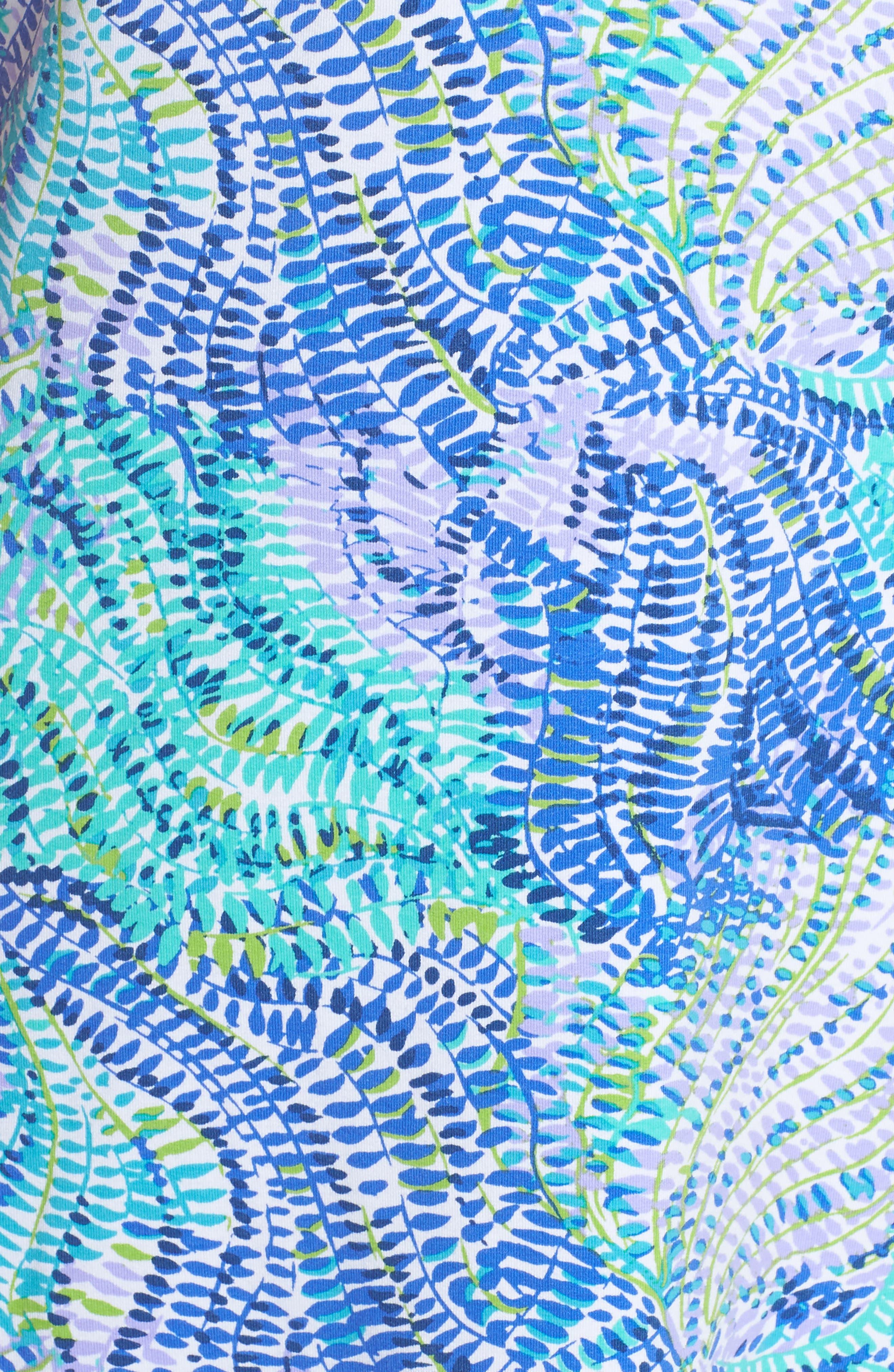 Tammy UPF 50 Dress,                             Alternate thumbnail 5, color,                             Blue Current