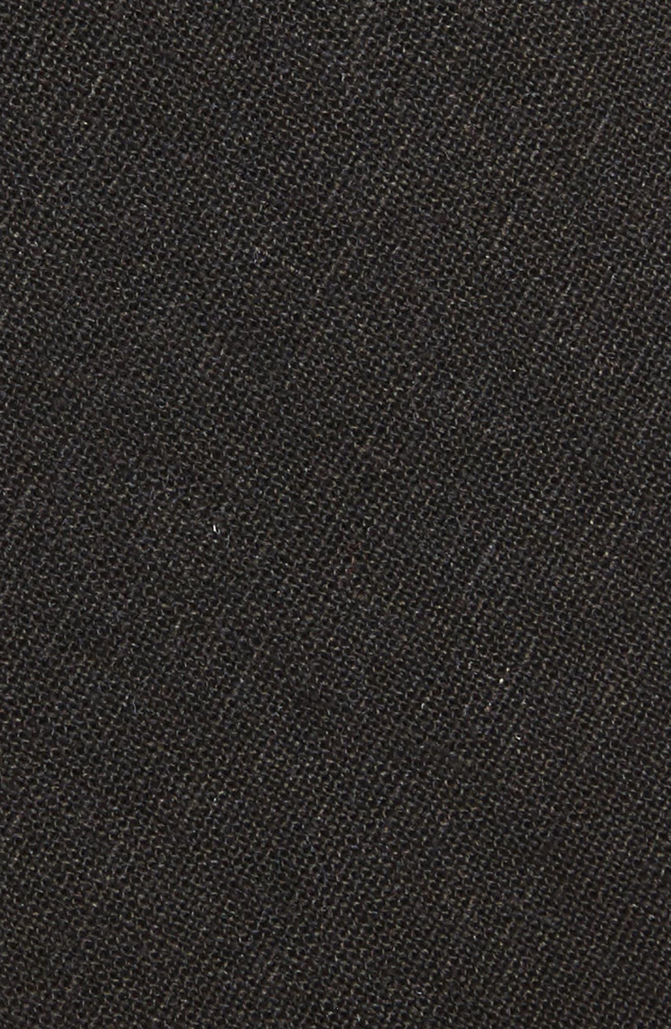 Alternate Image 2  - 1901 Solid Linen & Cotton Tie