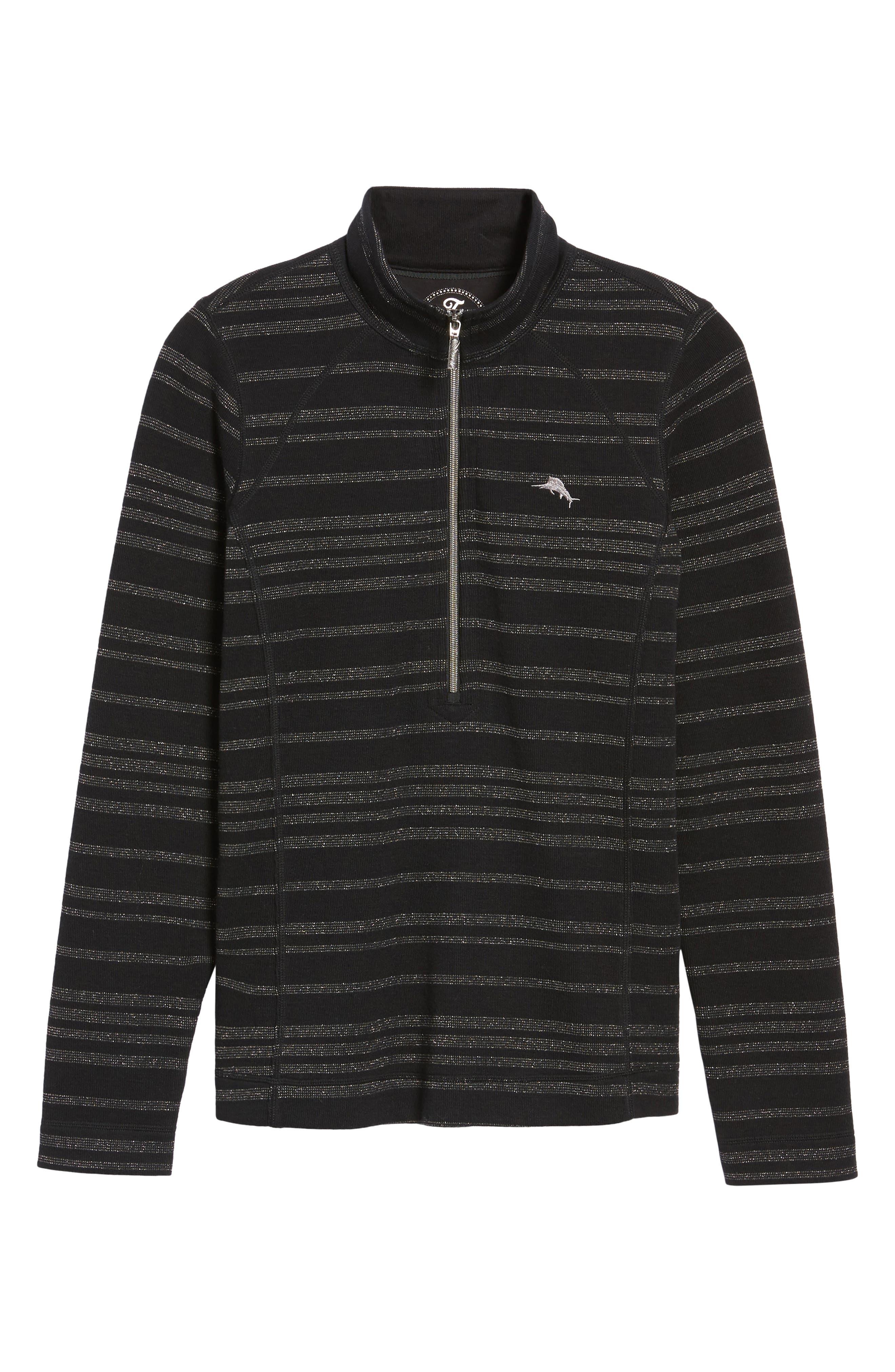 Alternate Image 6  - Tommy Bahama Aruba Shazam Stripe Half-Zip Pullover