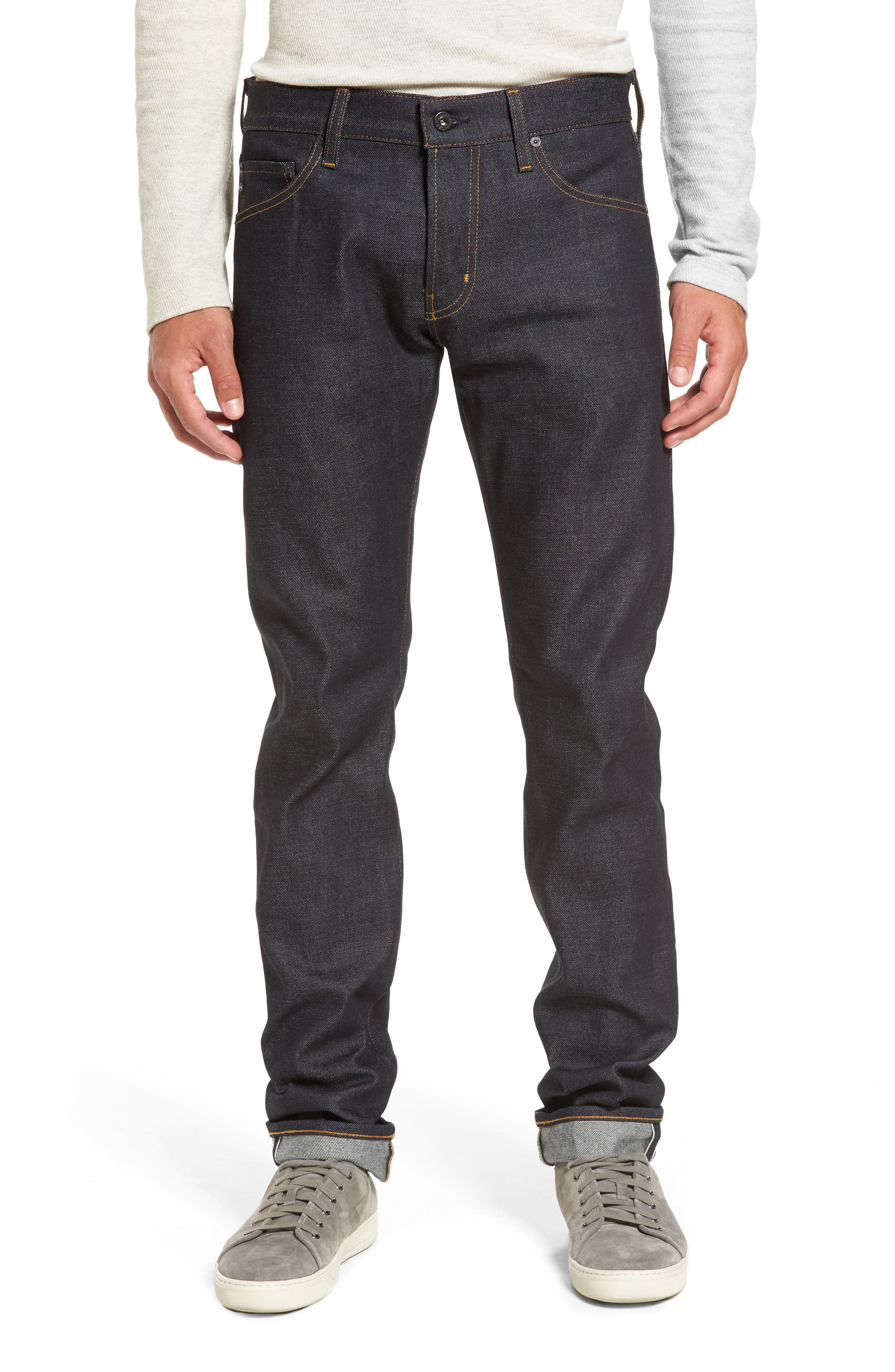 AG Tellis Slim Fit Jeans (Raw)