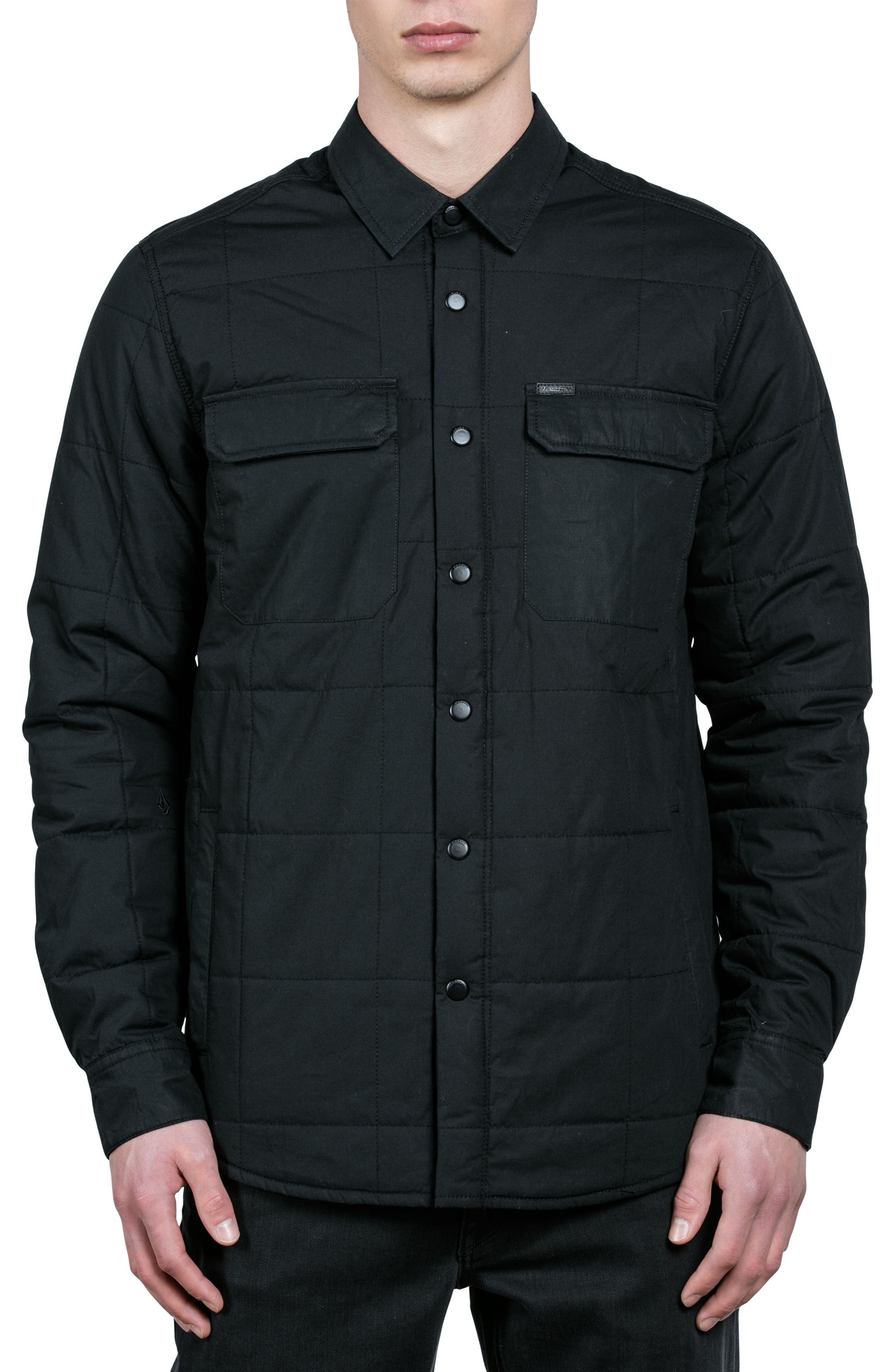 Main Image - Volcom Larkin Quilted Shirt Jacket