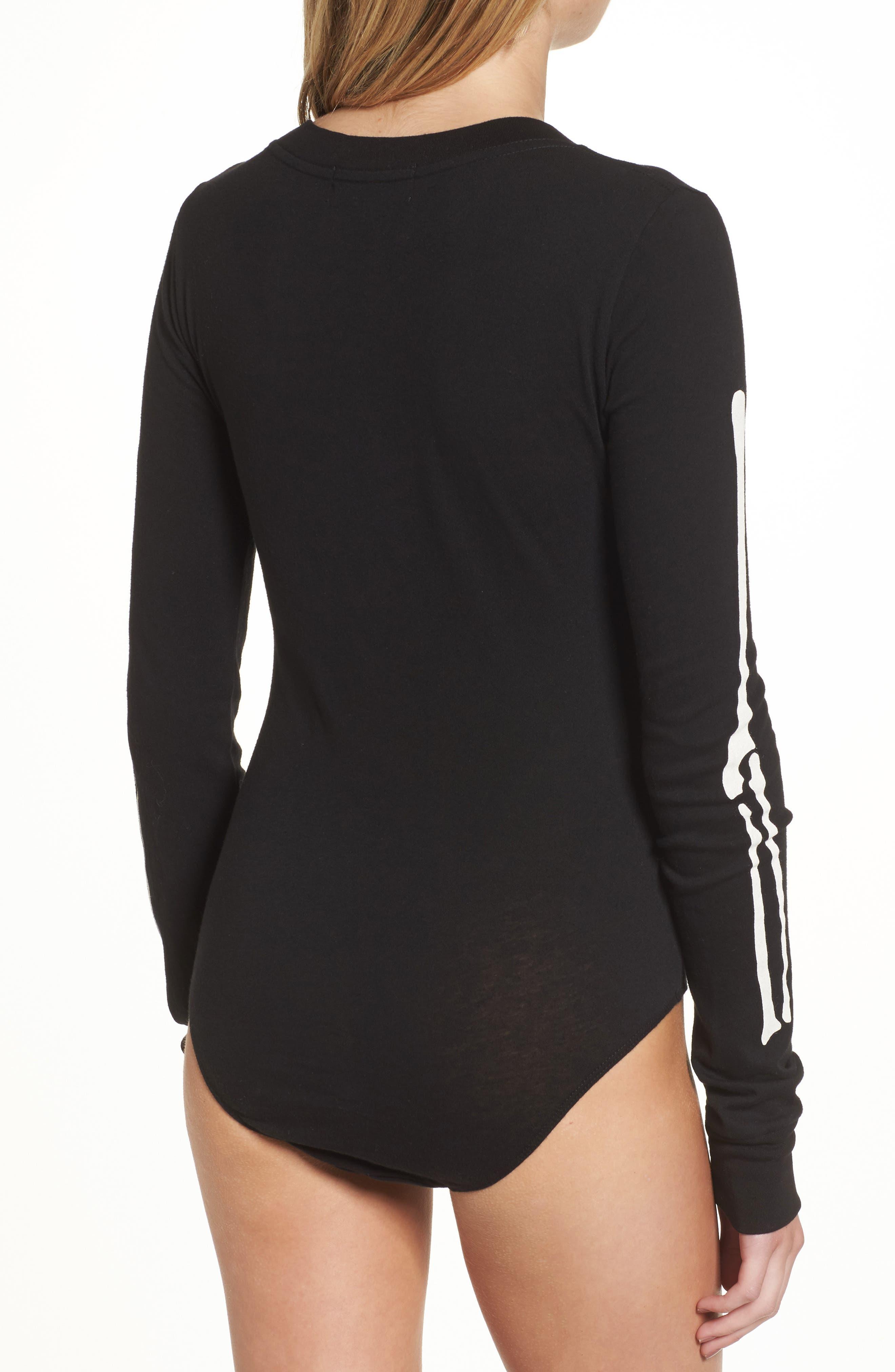 X-Ray Vision Bodysuit,                             Alternate thumbnail 3, color,                             Black