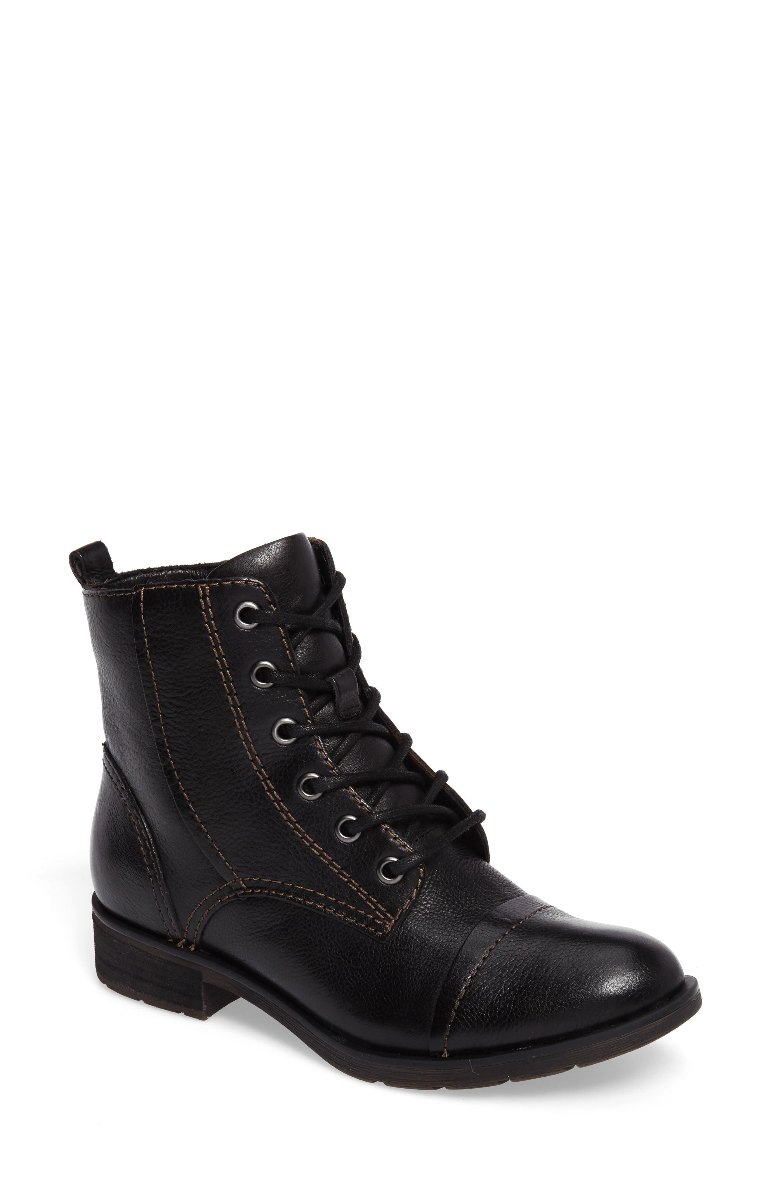 Alternate Image 1 Selected - Söfft Belton Cap Toe Combat Boot (Women)