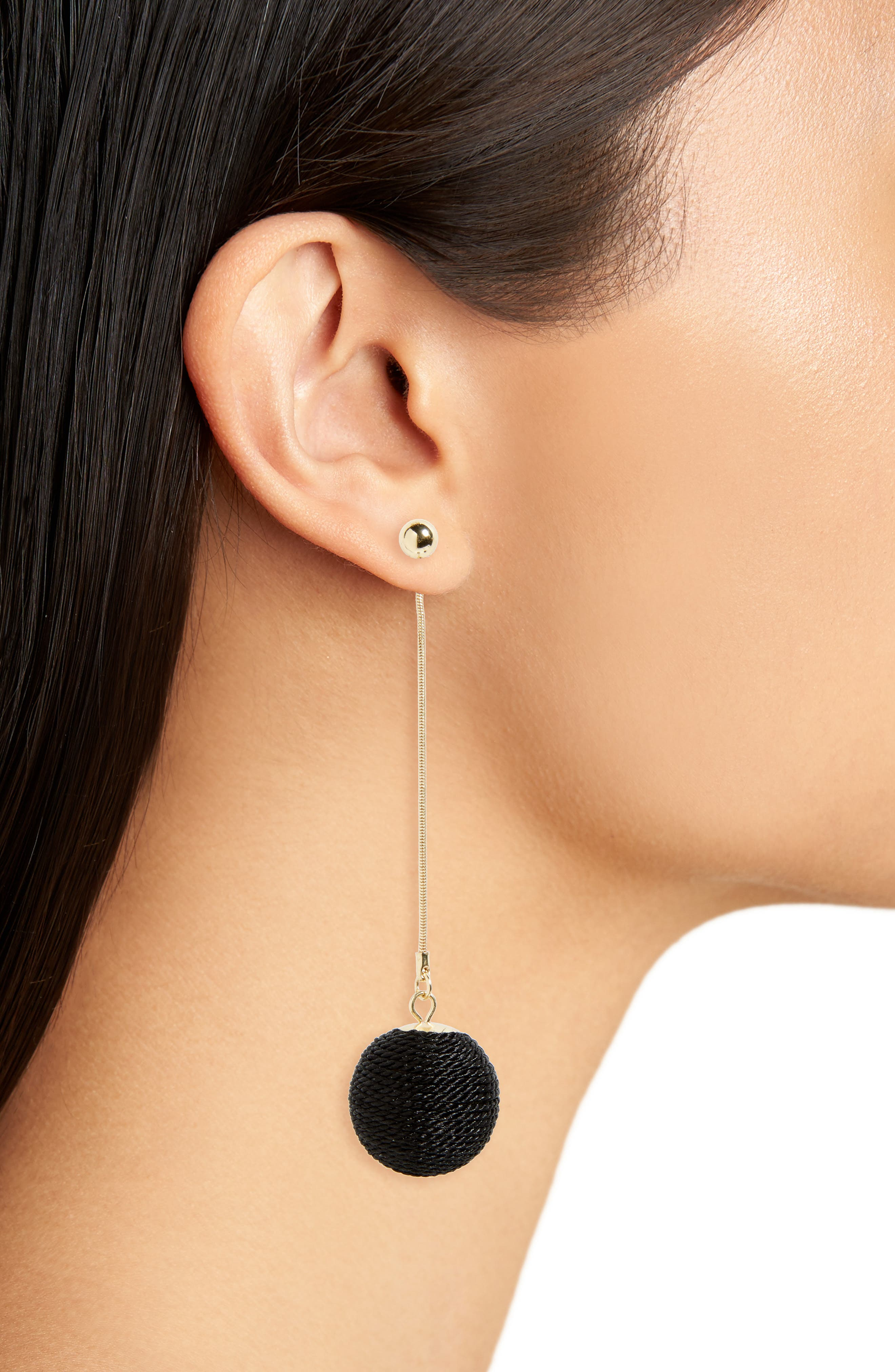 Alternate Image 2  - BP. Ball Drop Ear Jackets