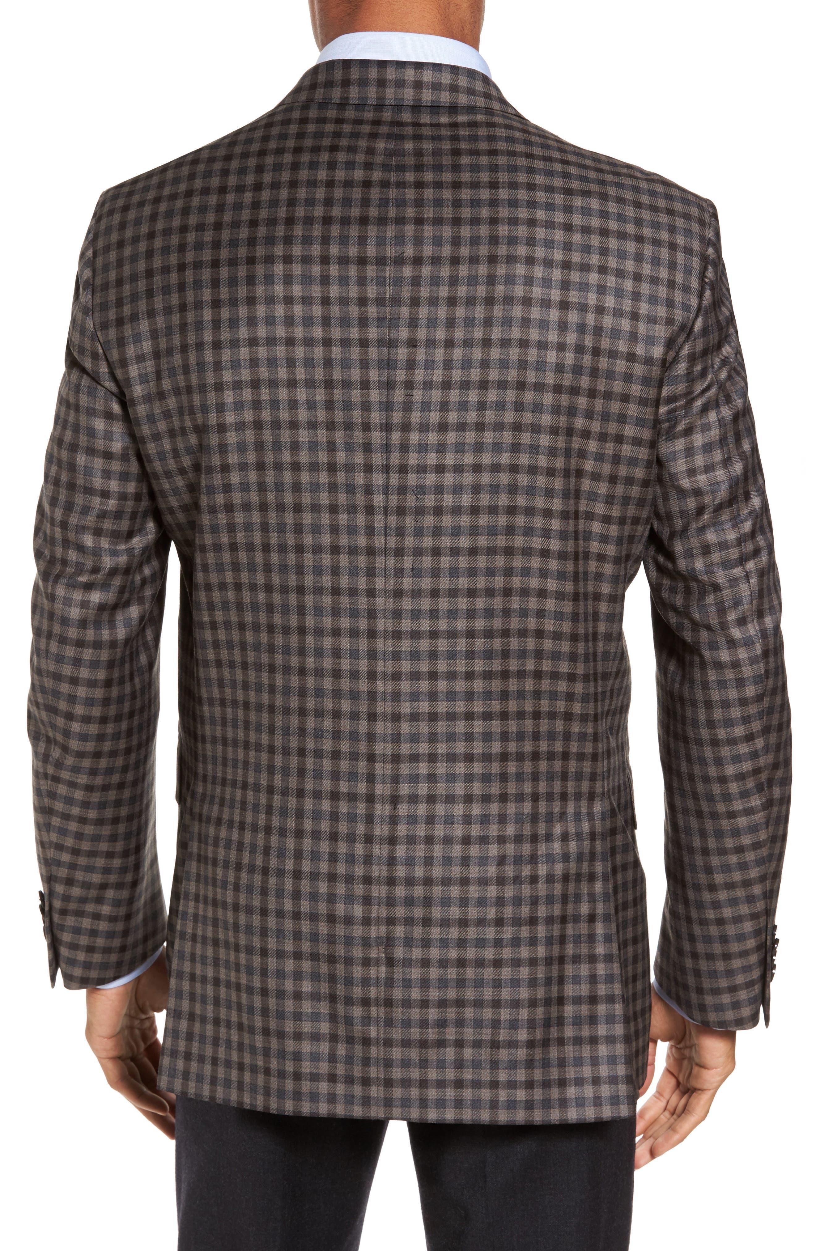 Alternate Image 2  - Peter Millar Flynn Classic Fit Check Wool Sport Coat