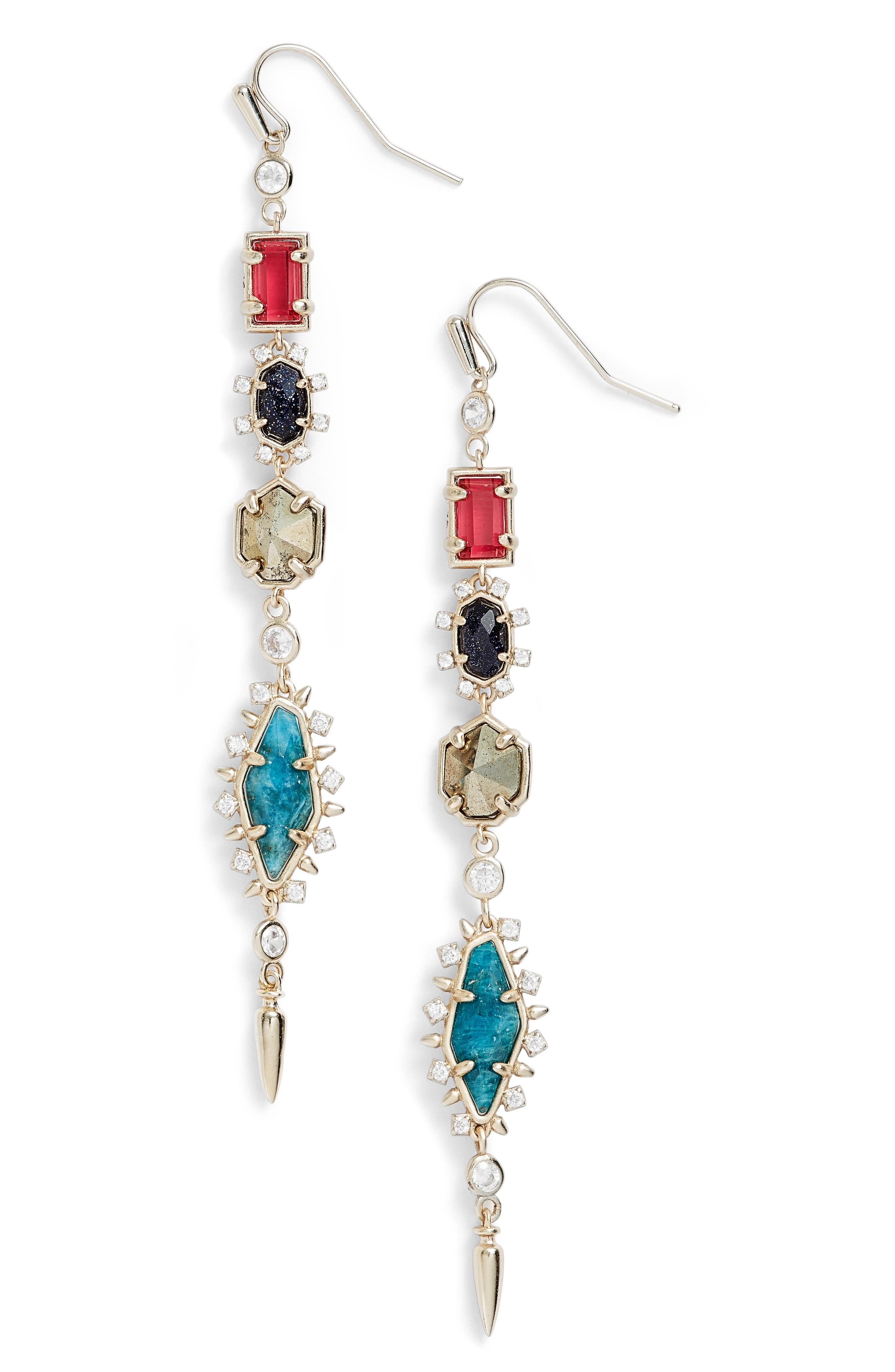 Alternate Image 1 Selected - Kendra Scott Leandra Linear Earrings