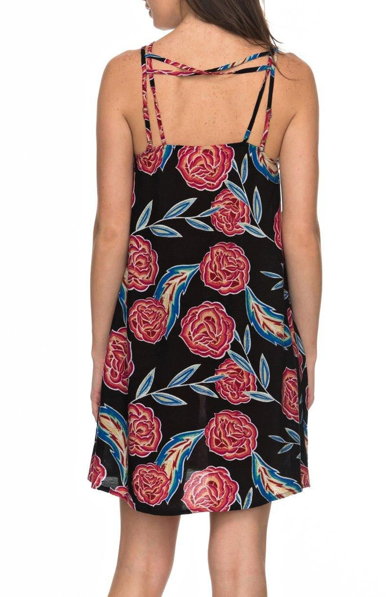 Alternate Image 3  - Roxy Sunburnt Land Shift Dress