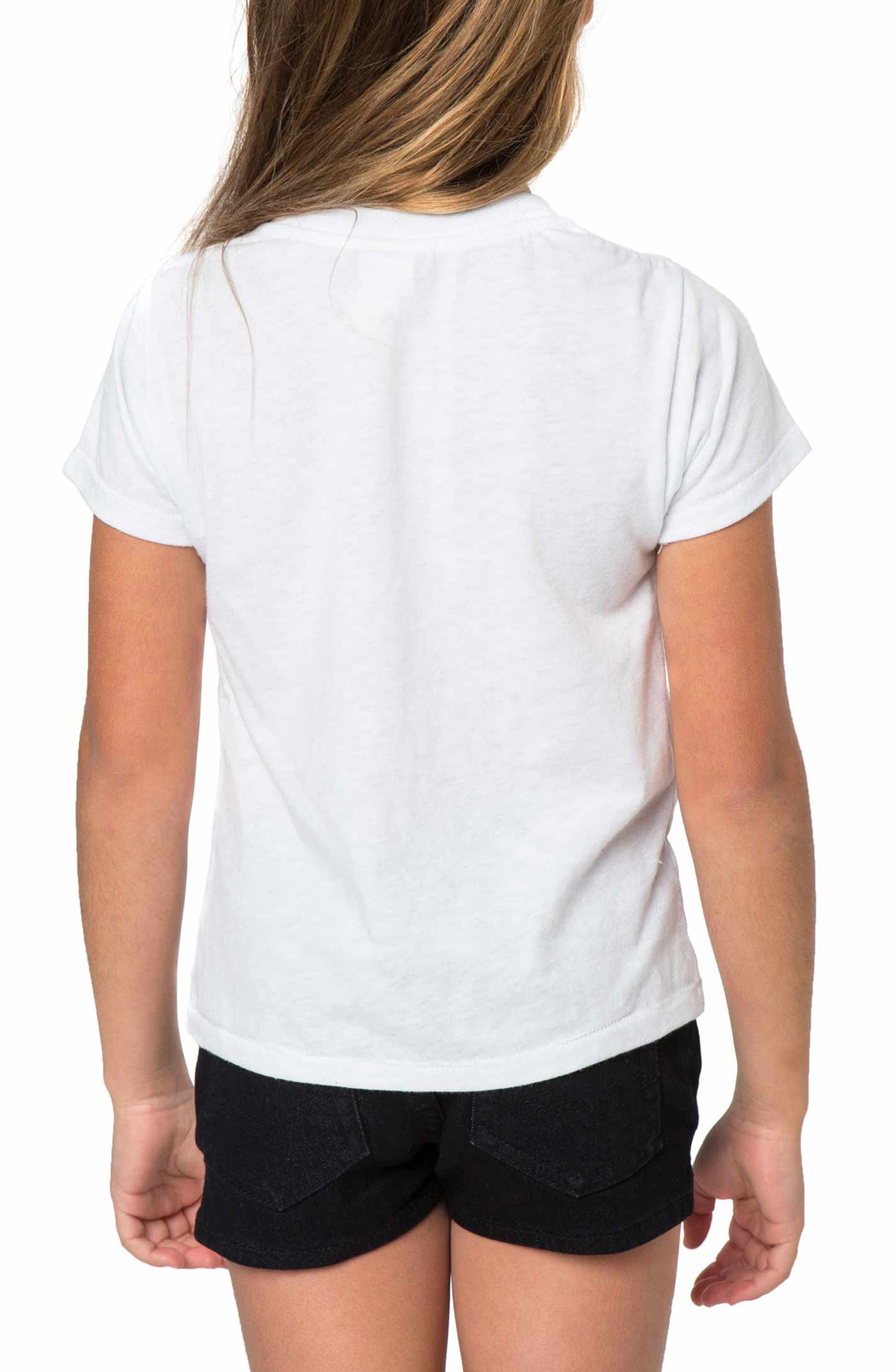Stay Wild Moon Child Graphic Print Tee,                             Alternate thumbnail 2, color,                             White