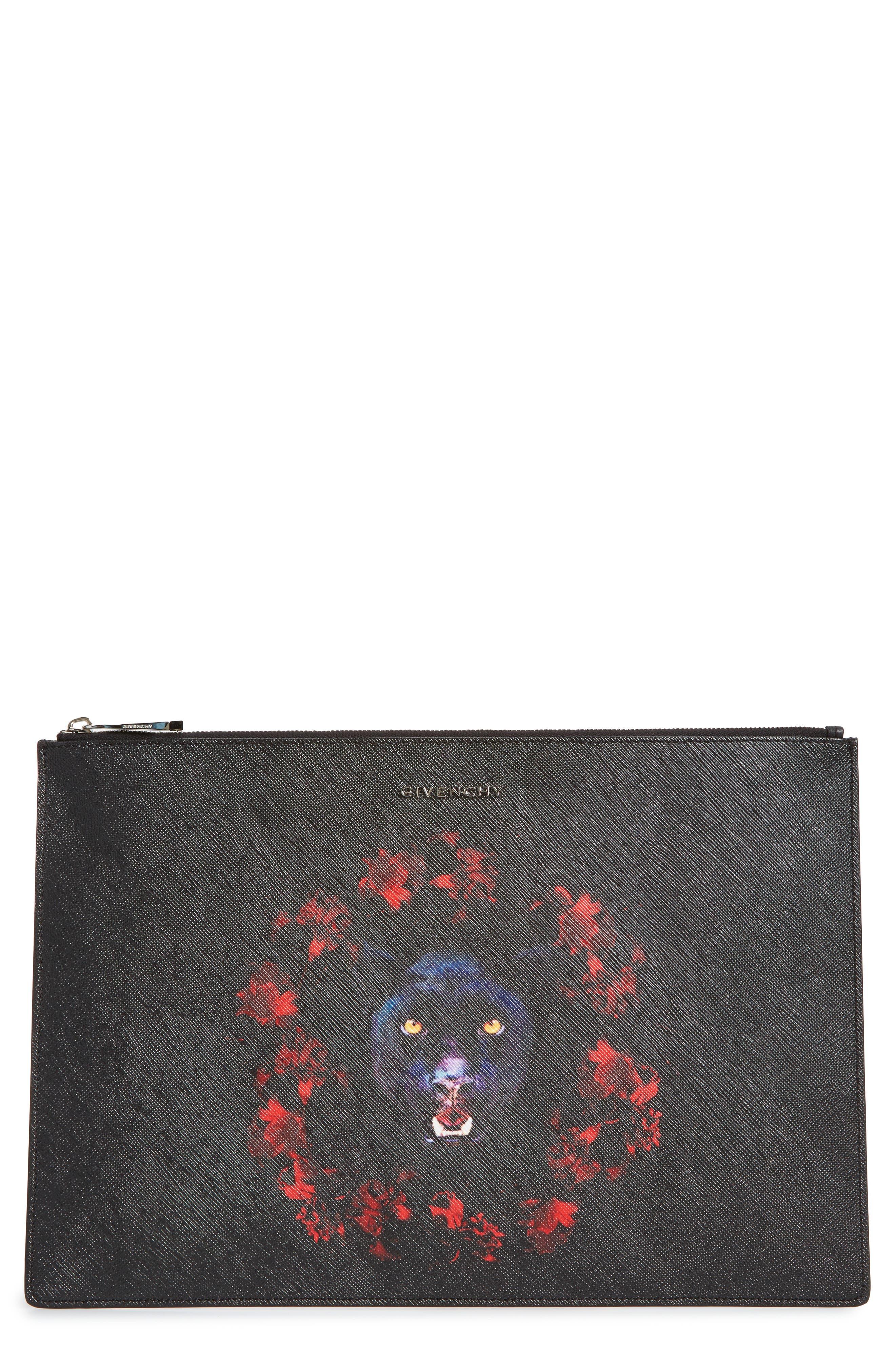 Alternate Image 1 Selected - Givenchy Jaguar Zip Pouch