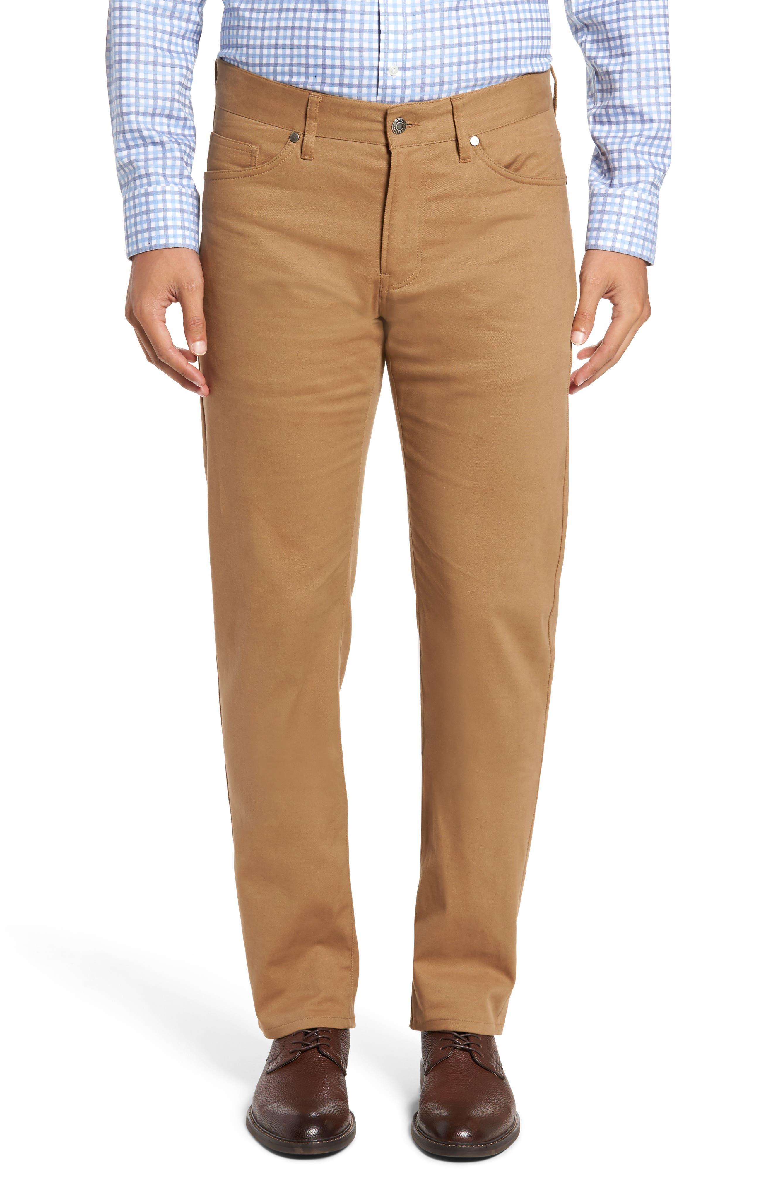 Perfect Twill 5-Pocket Pants,                         Main,                         color, Ghiaccio
