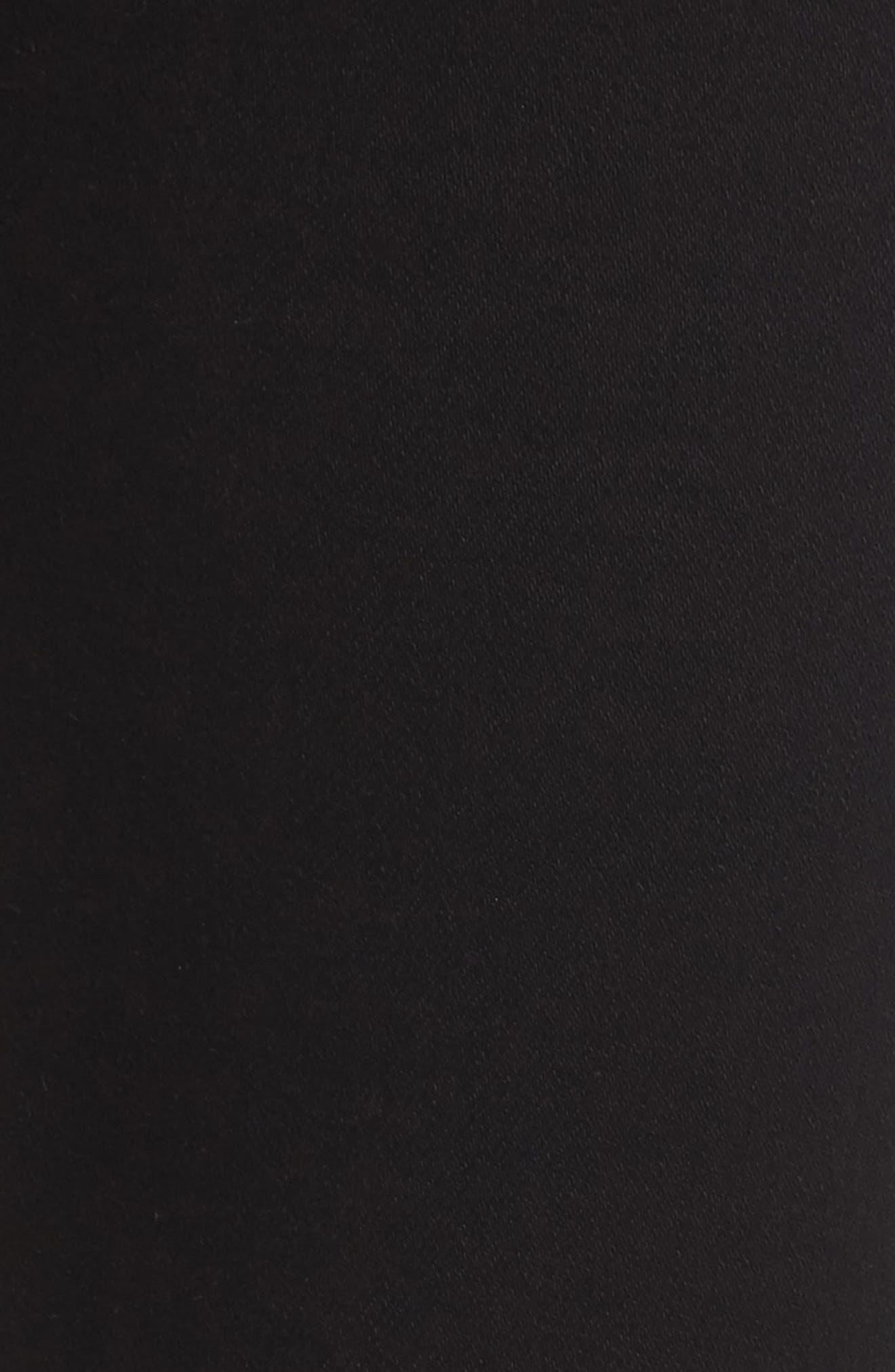 Emmanuelle Crop Slim Bootcut Jeans,                             Alternate thumbnail 5, color,                             Tuxedo