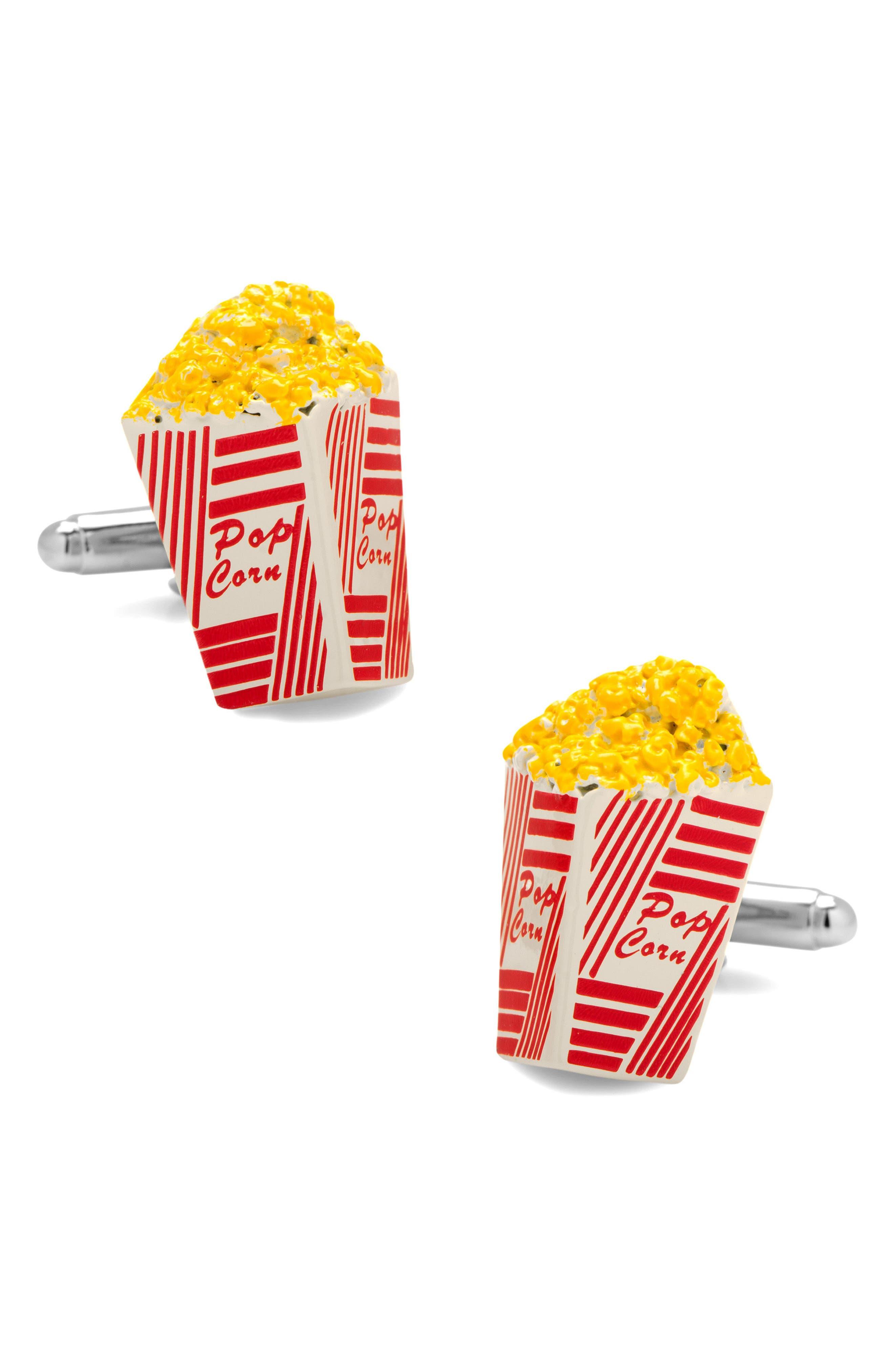 Cufflinks, Inc. Popcorn Bucket Cuff Links