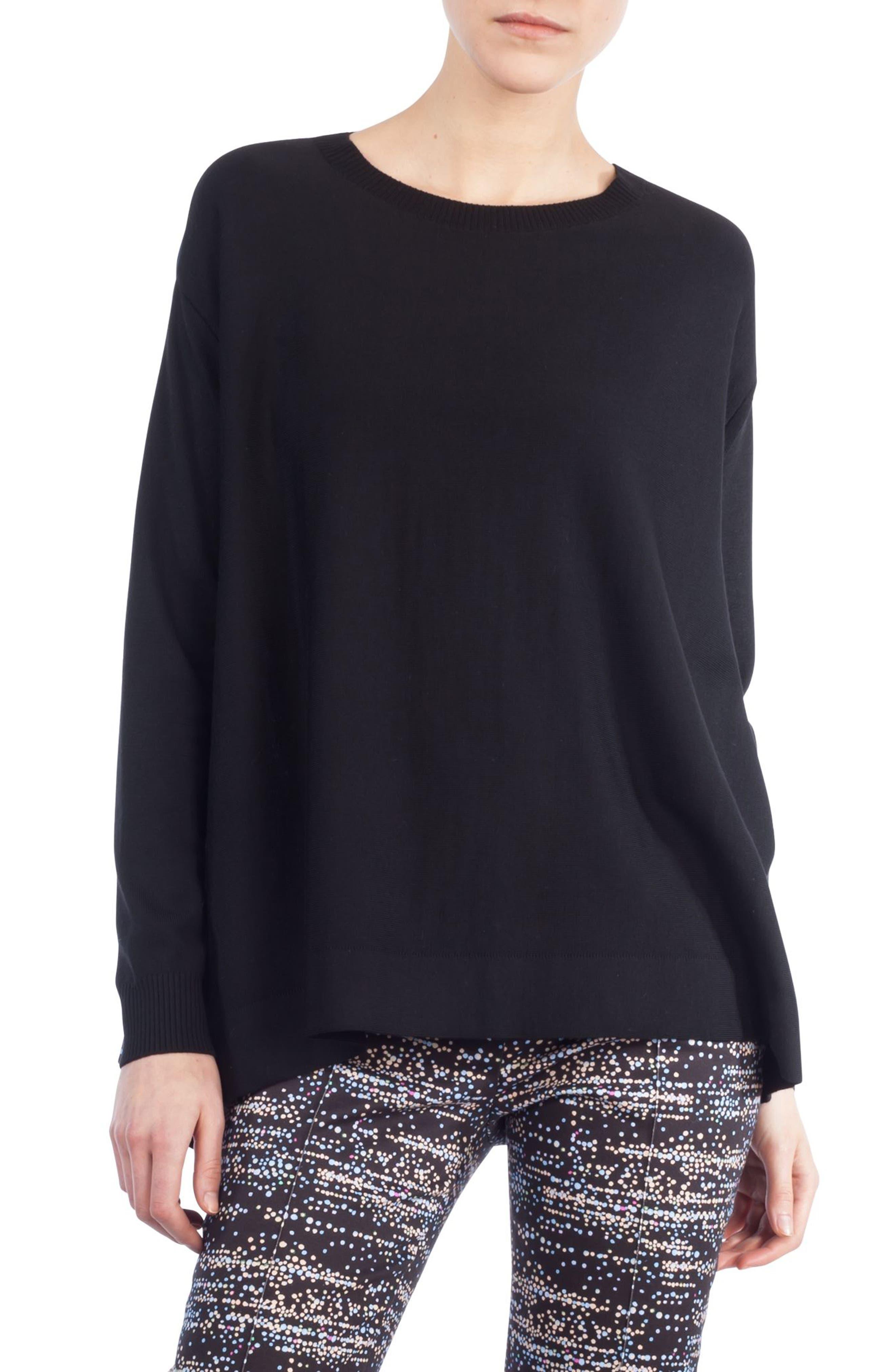 Main Image - Akris punto Twilight Print Wool Pullover