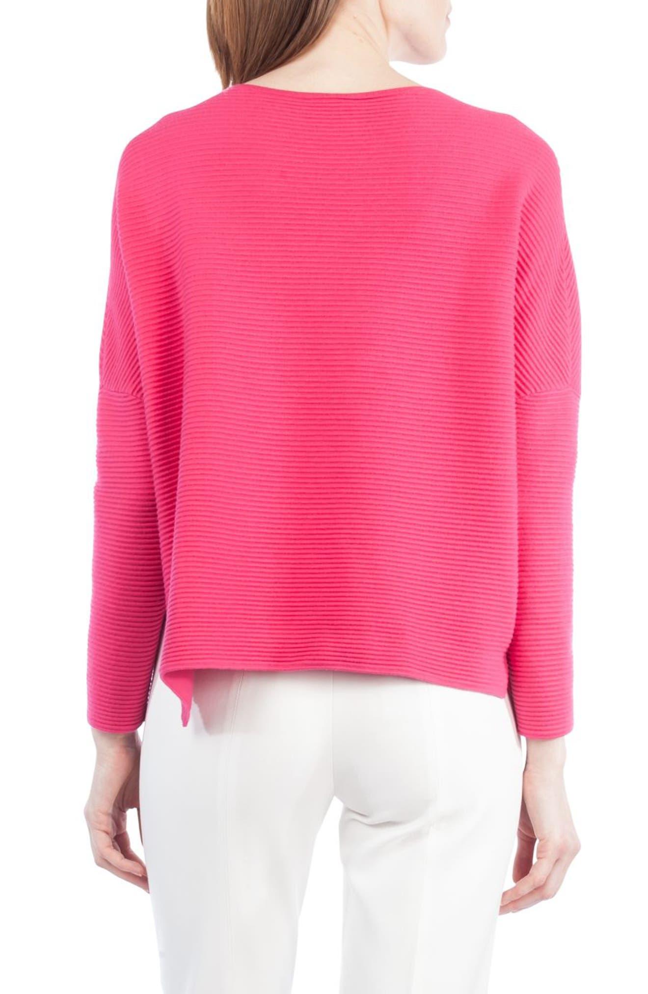 Alternate Image 2  - Akris punto Stretch Wool Pullover