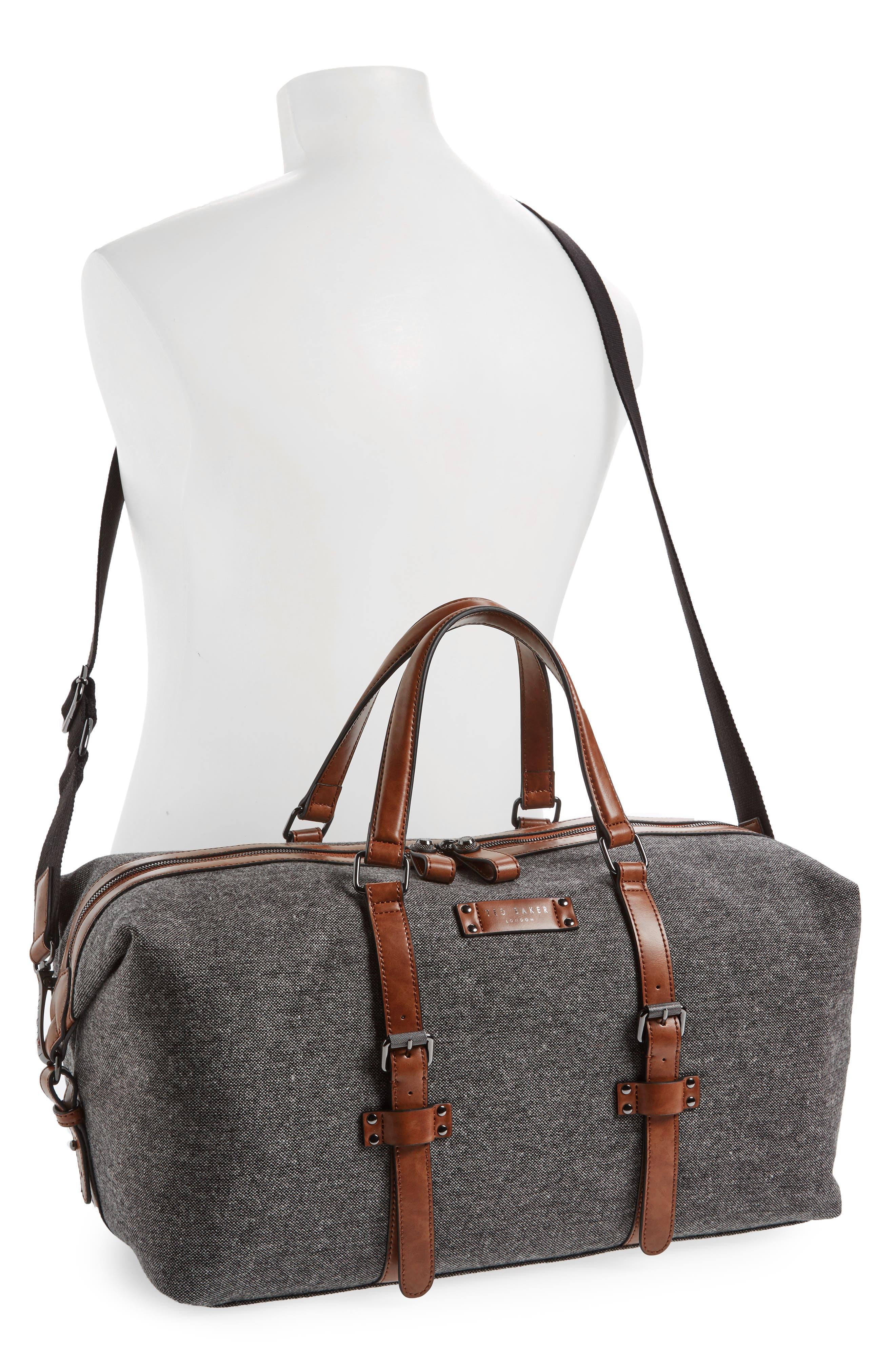 Tailor Wool Duffel Bag,                             Alternate thumbnail 2, color,                             Grey