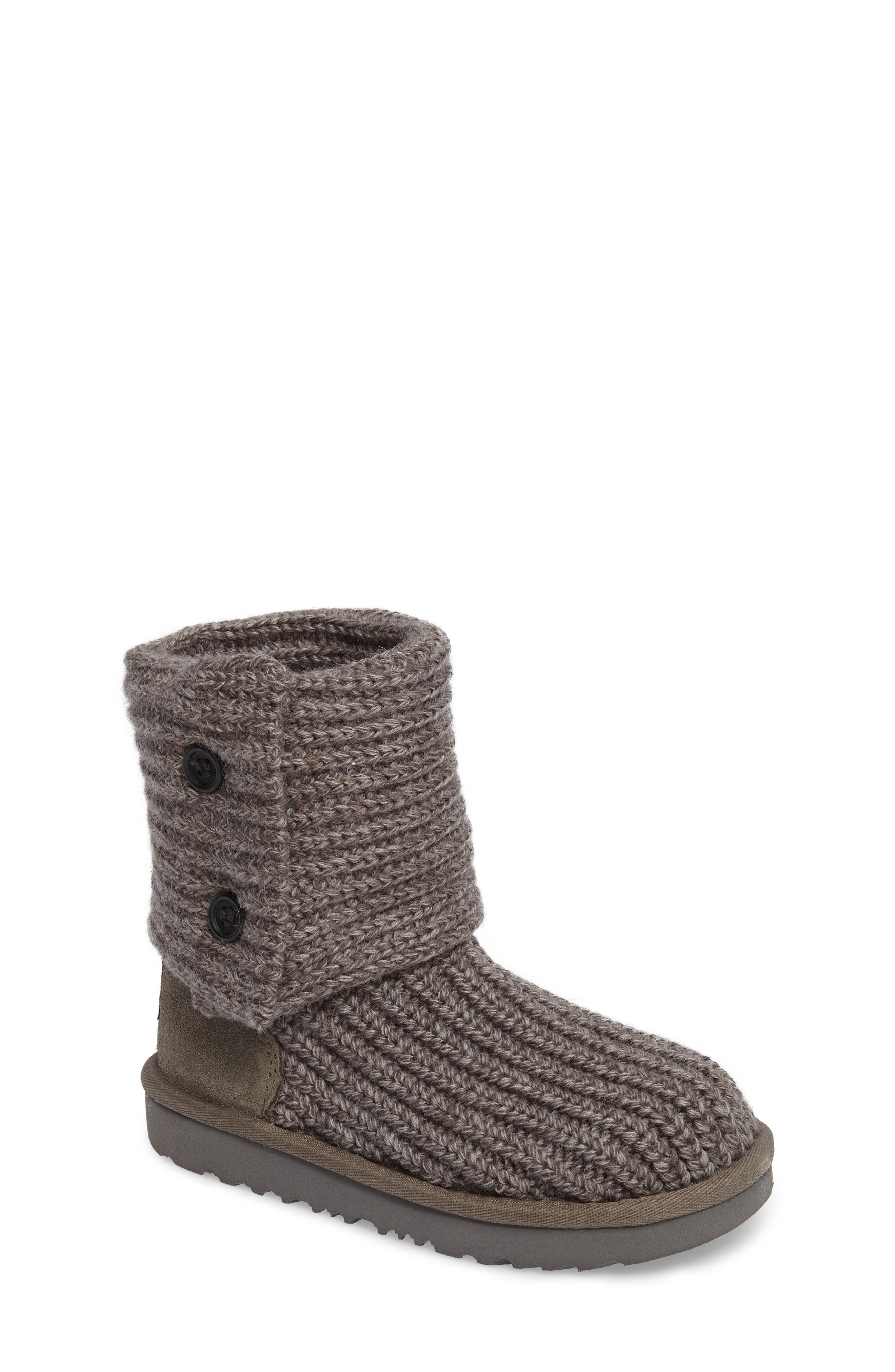 UGG® Cardy II Cableknit Bootie (Toddler, Little Kid & Big Kid)