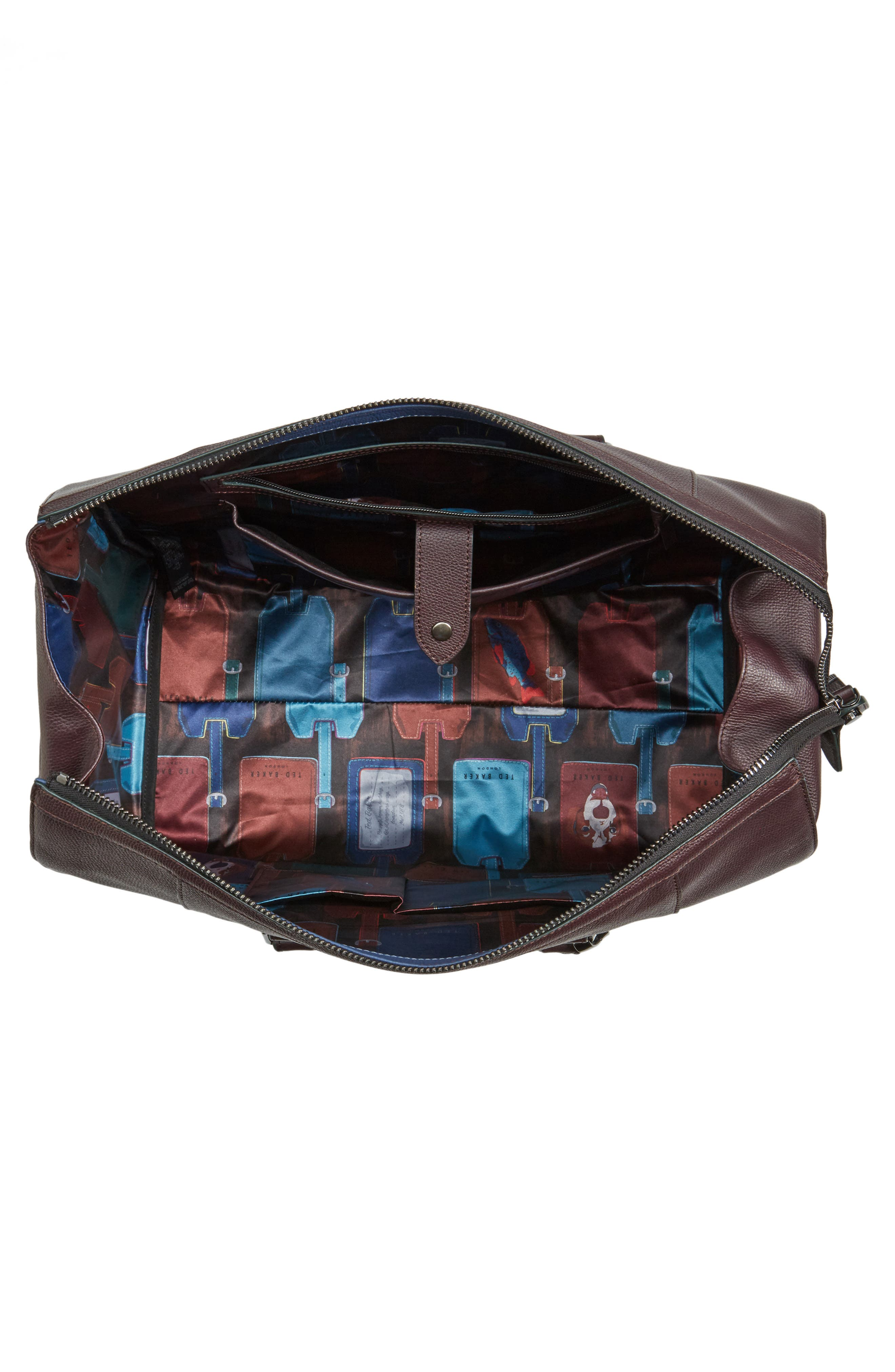 Alternate Image 4  - Ted Baker London Panthea Leather Duffel Bag