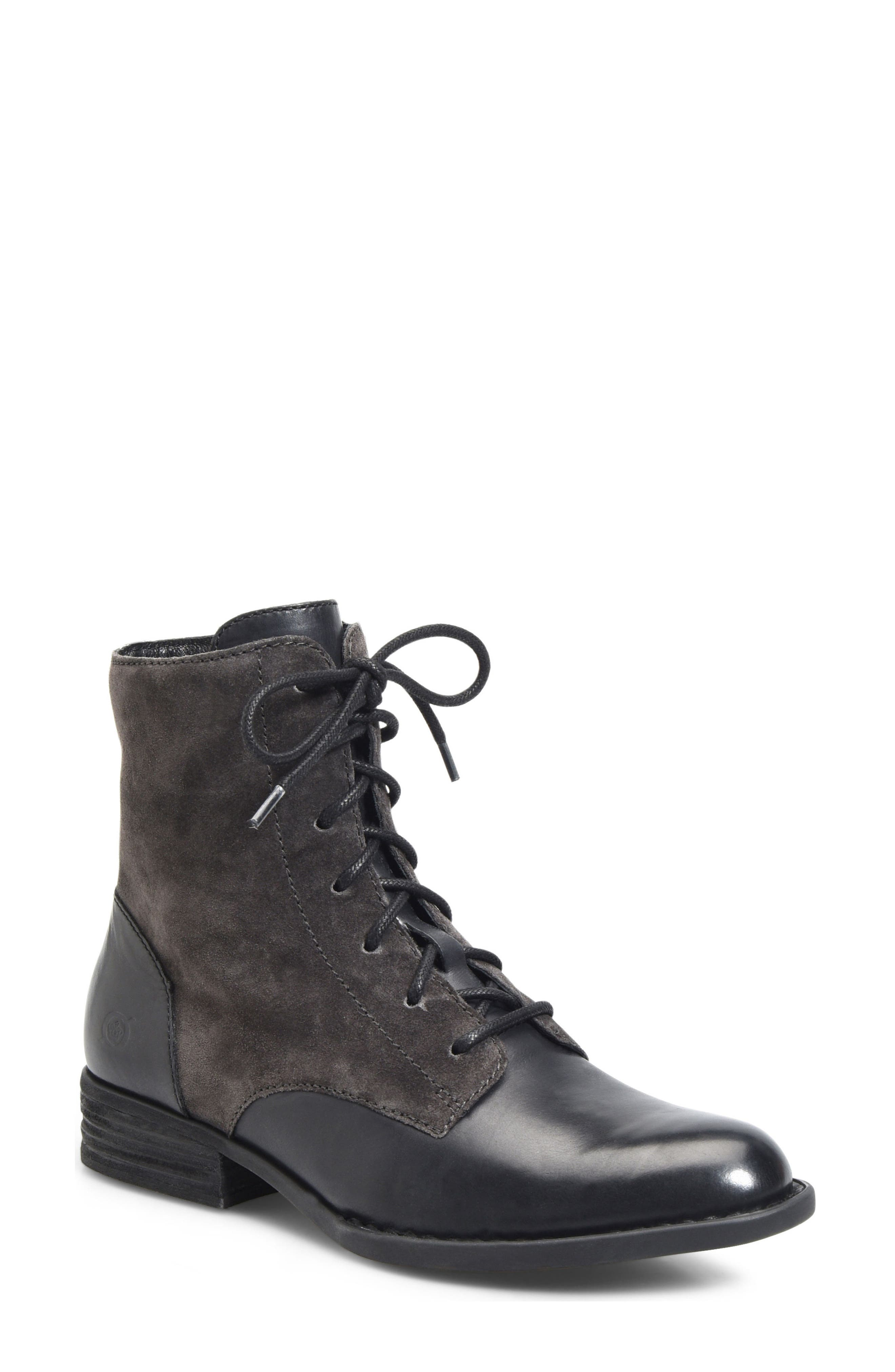 Alternate Image 1 Selected - Børn Clements Lace-Up Boot (Women)