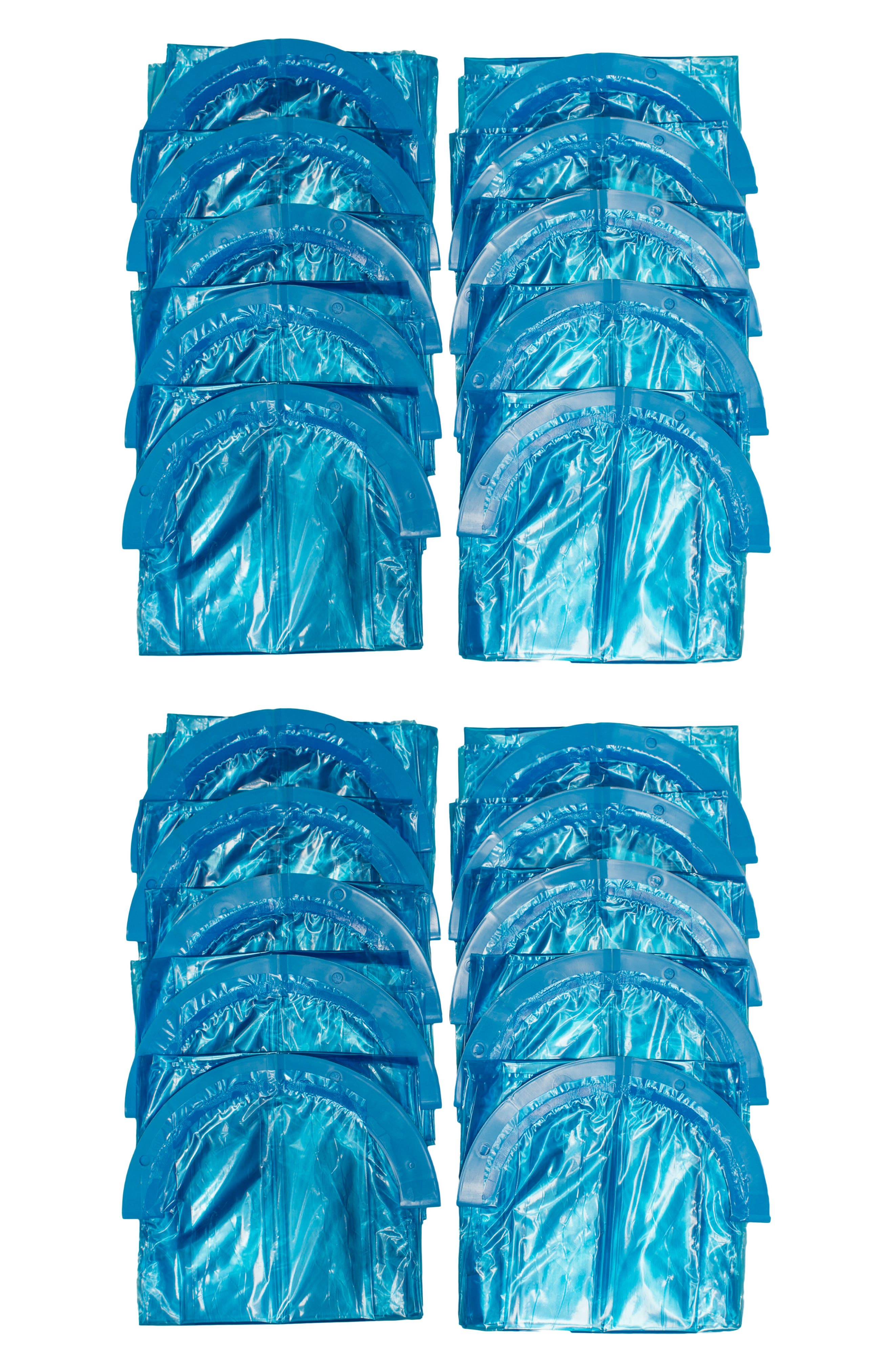 Twist'r Diaper Disposal System Set of 20 Refill Bags,                         Main,                         color, White