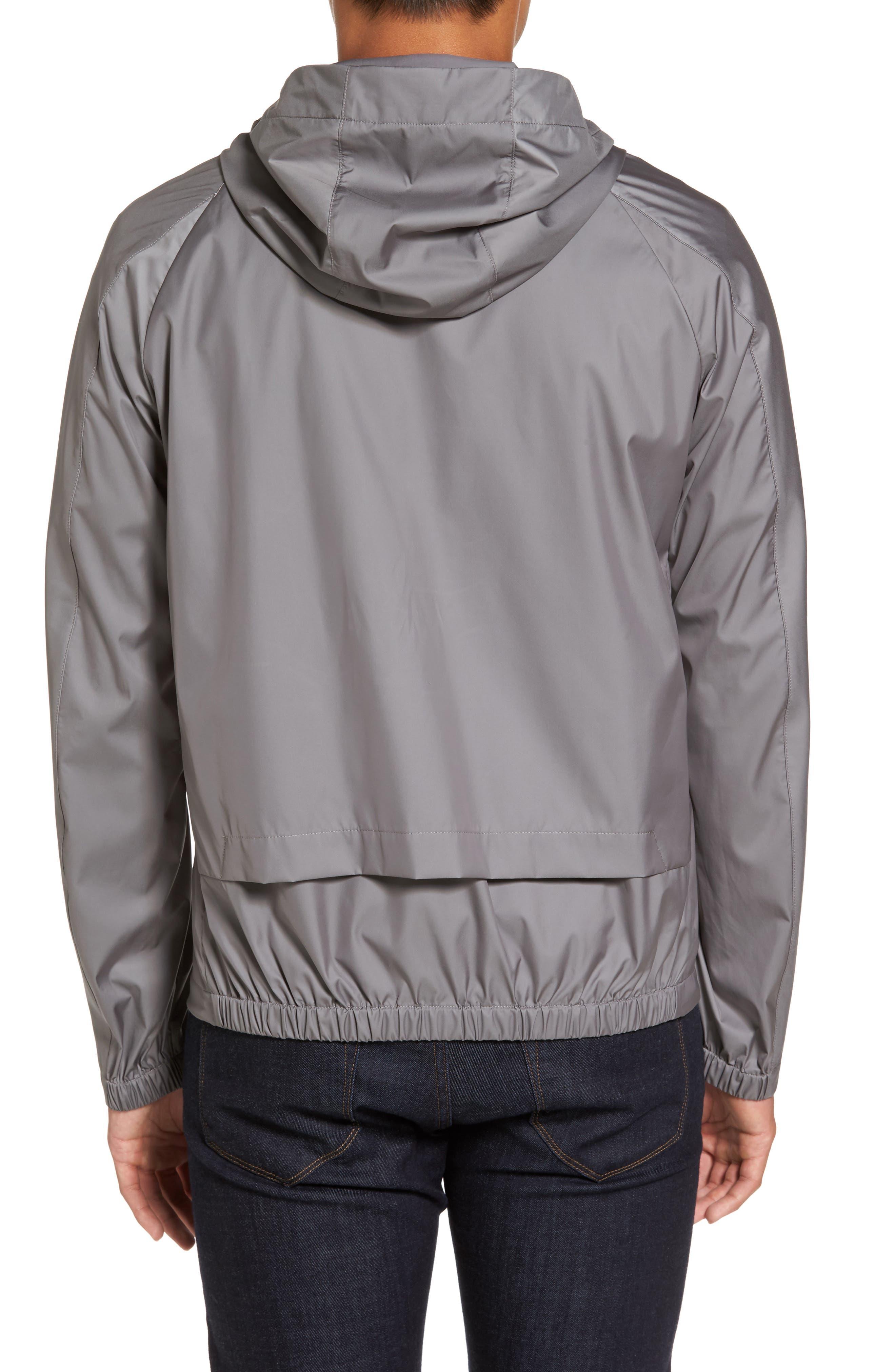 Driftbreak Trim Fit Tech Jacket,                             Alternate thumbnail 2, color,                             Grey