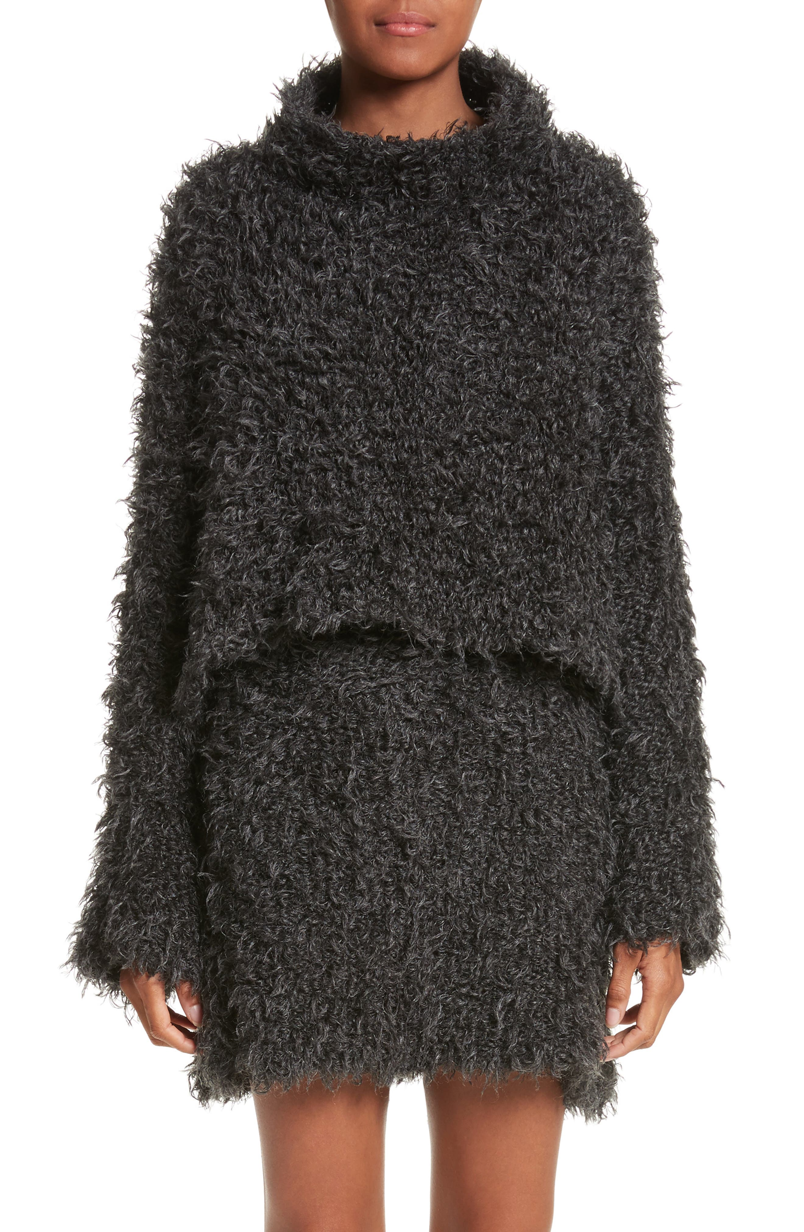Eckhaus Latta Fuzzy Dolman Sweater
