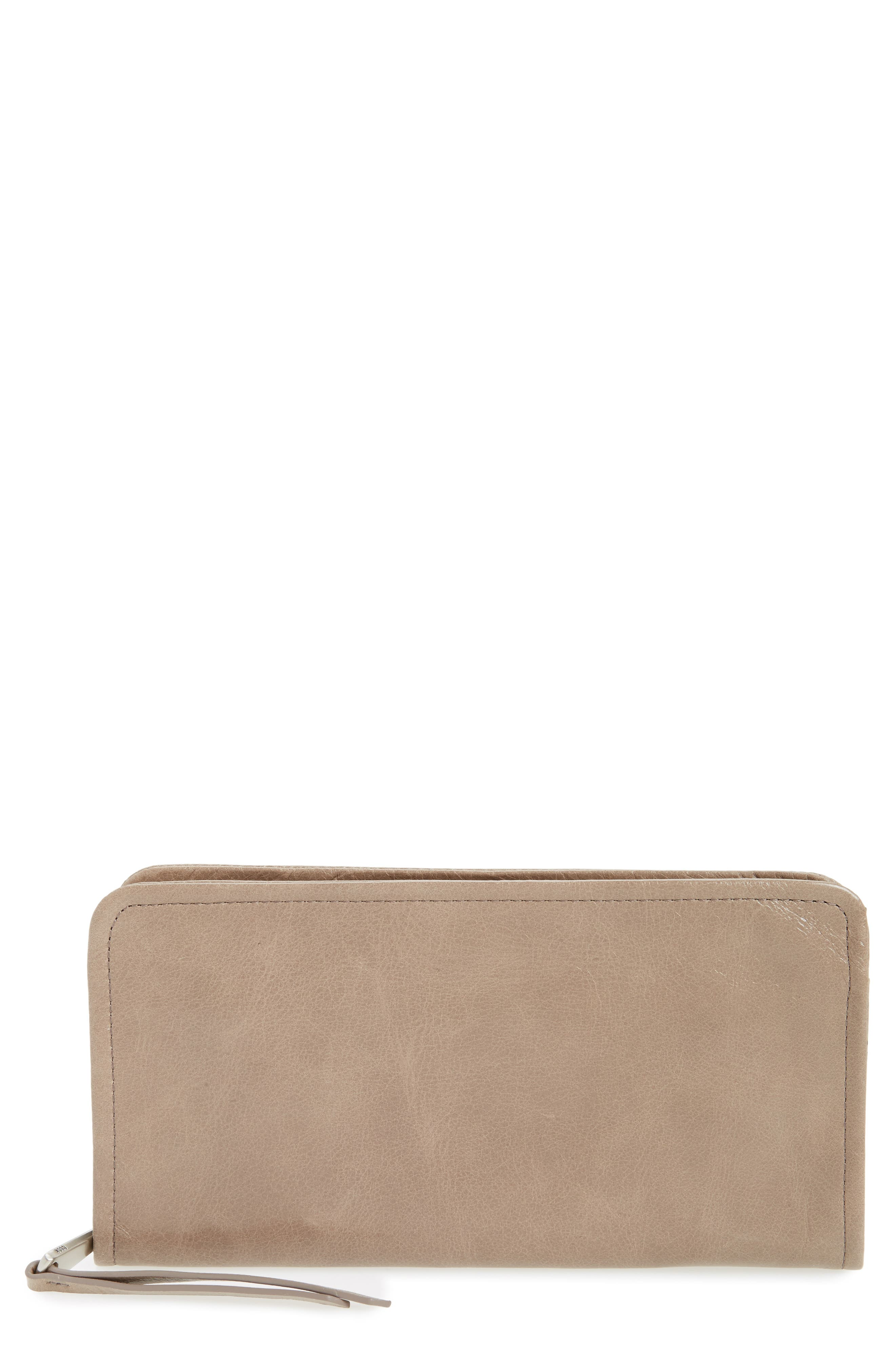 Hobo Remi Calfskin Leather Zip-Around Wallet