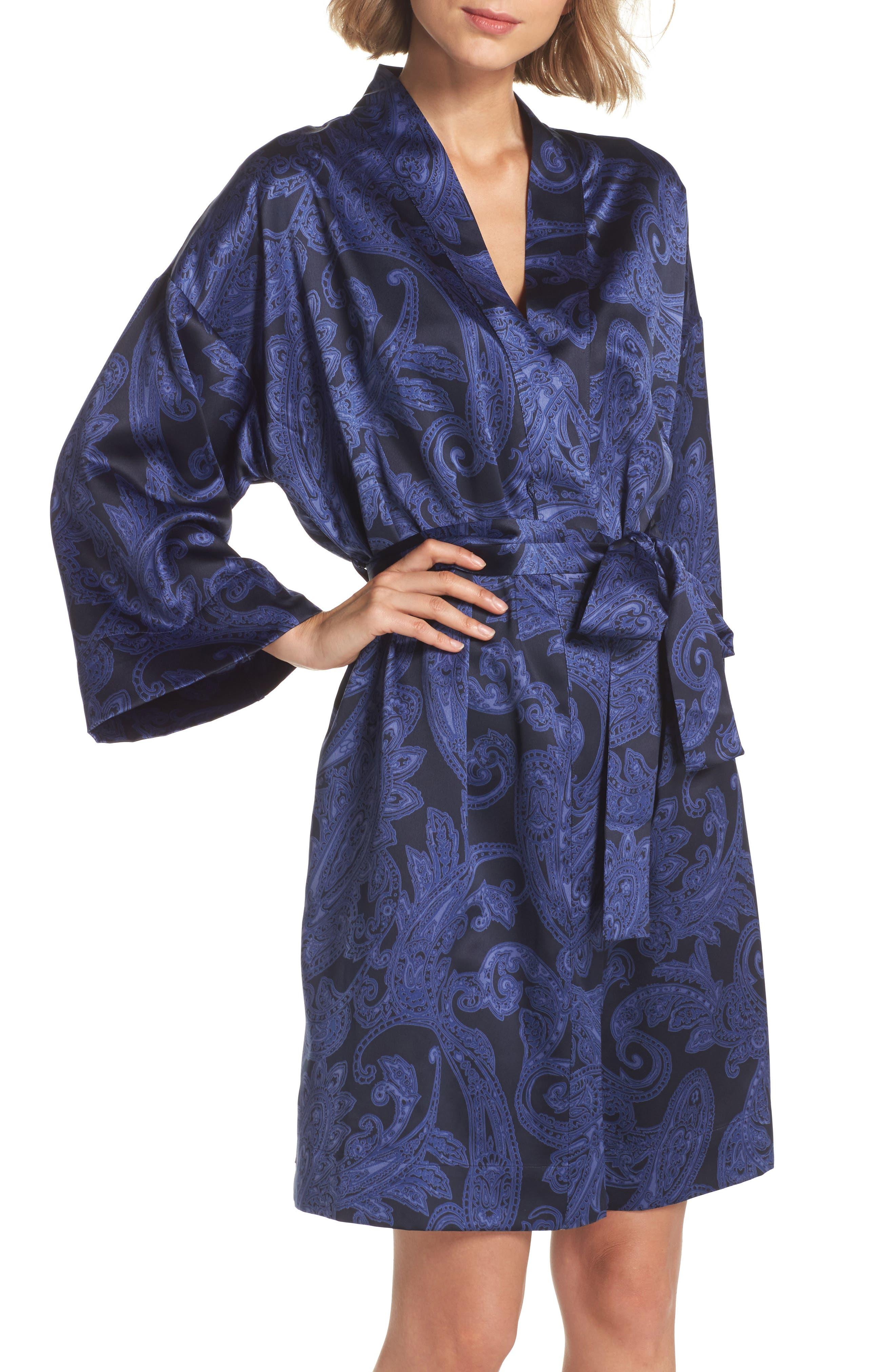 Lauren Ralph Lauren Print Short Robe