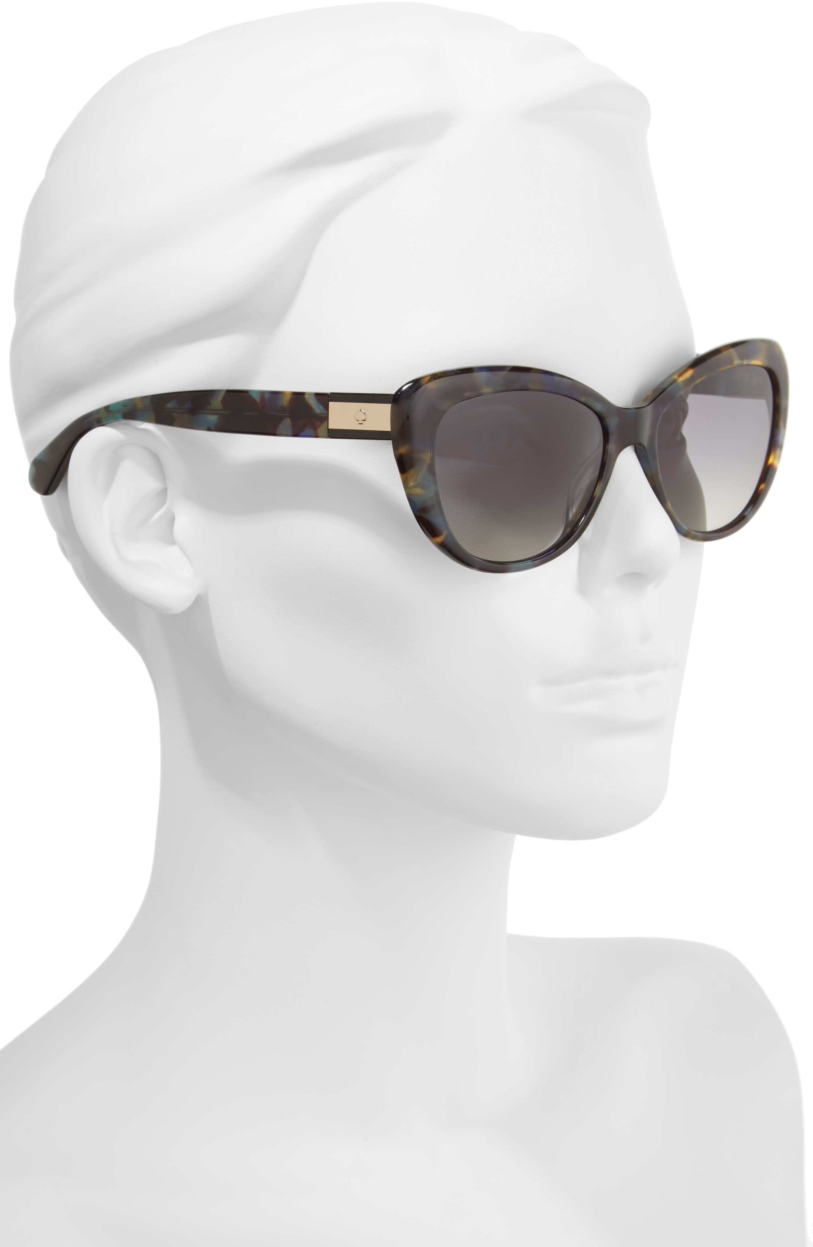 Alternate Image 2  - kate spade new york emmalyn 54mm polarized cat eye sunglasses