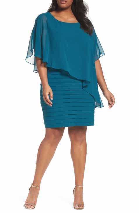 Blue Plus Size Dresses Nordstrom
