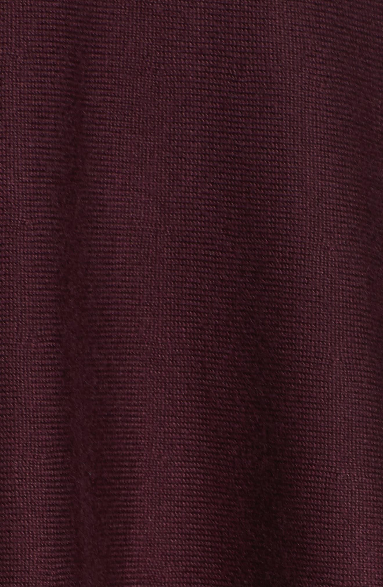 Alternate Image 5  - Eliza J Tie Neck Fit & Flare Dress (Regular & Petite)