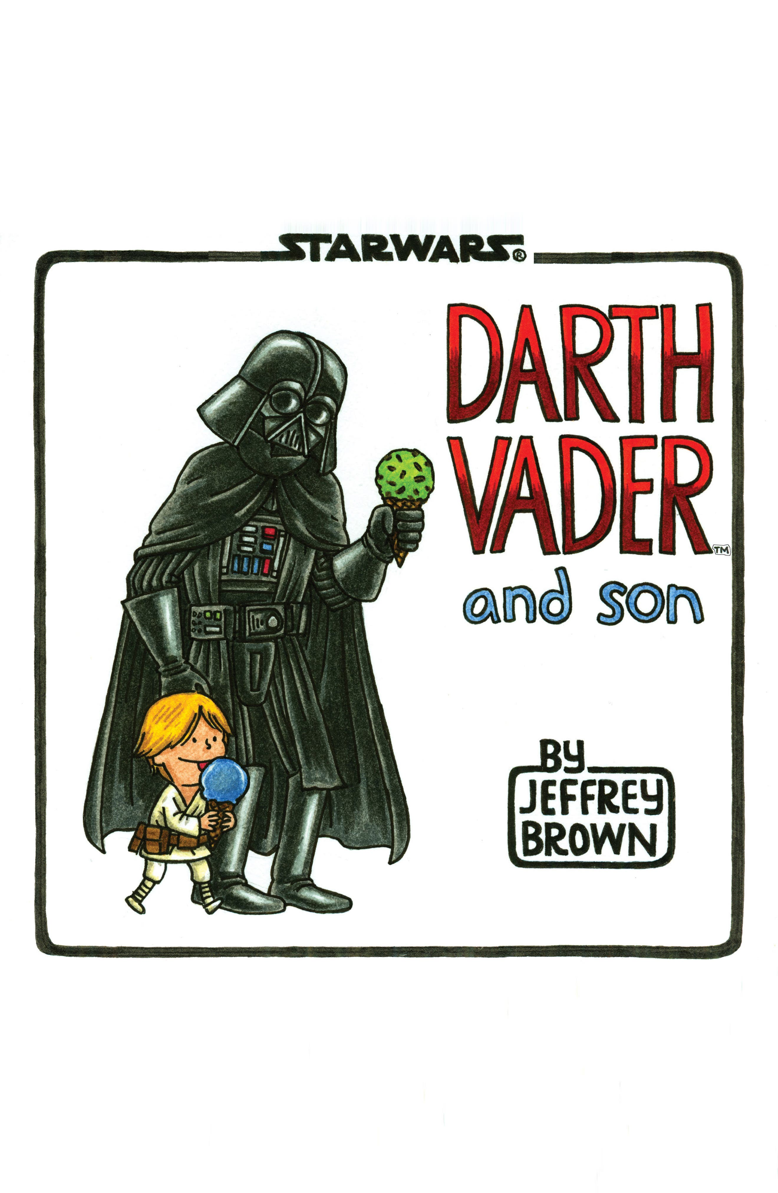 Chronicle Books Darth Vader & Son Book