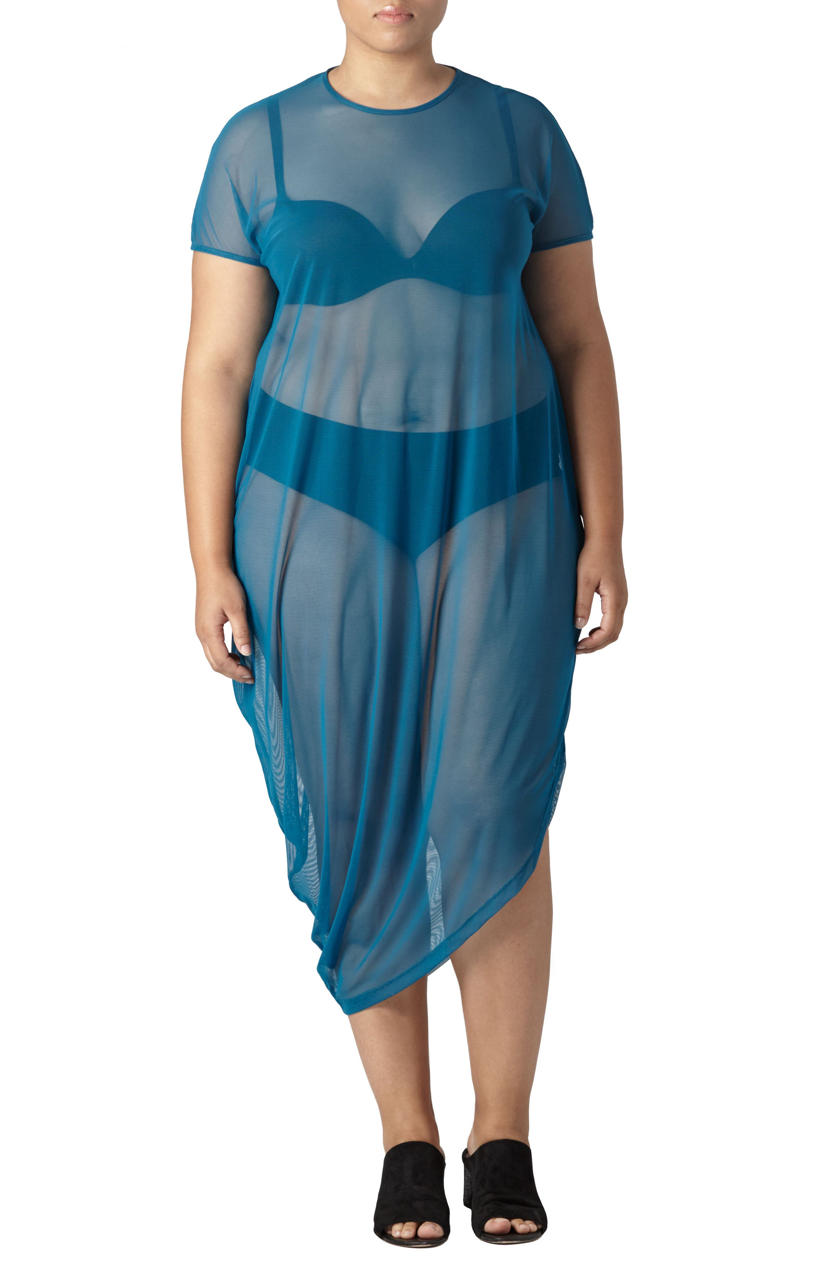 Geneva Fog Dress,                             Main thumbnail 1, color,                             Marine
