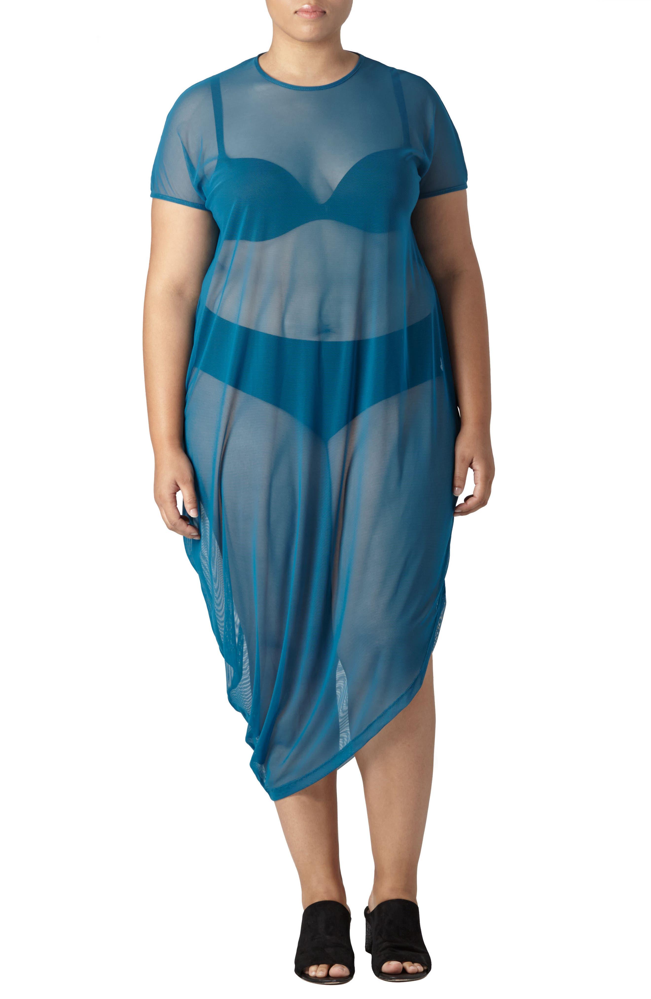UNIVERSAL STANDARD Geneva Fog Dress (Plus Size)