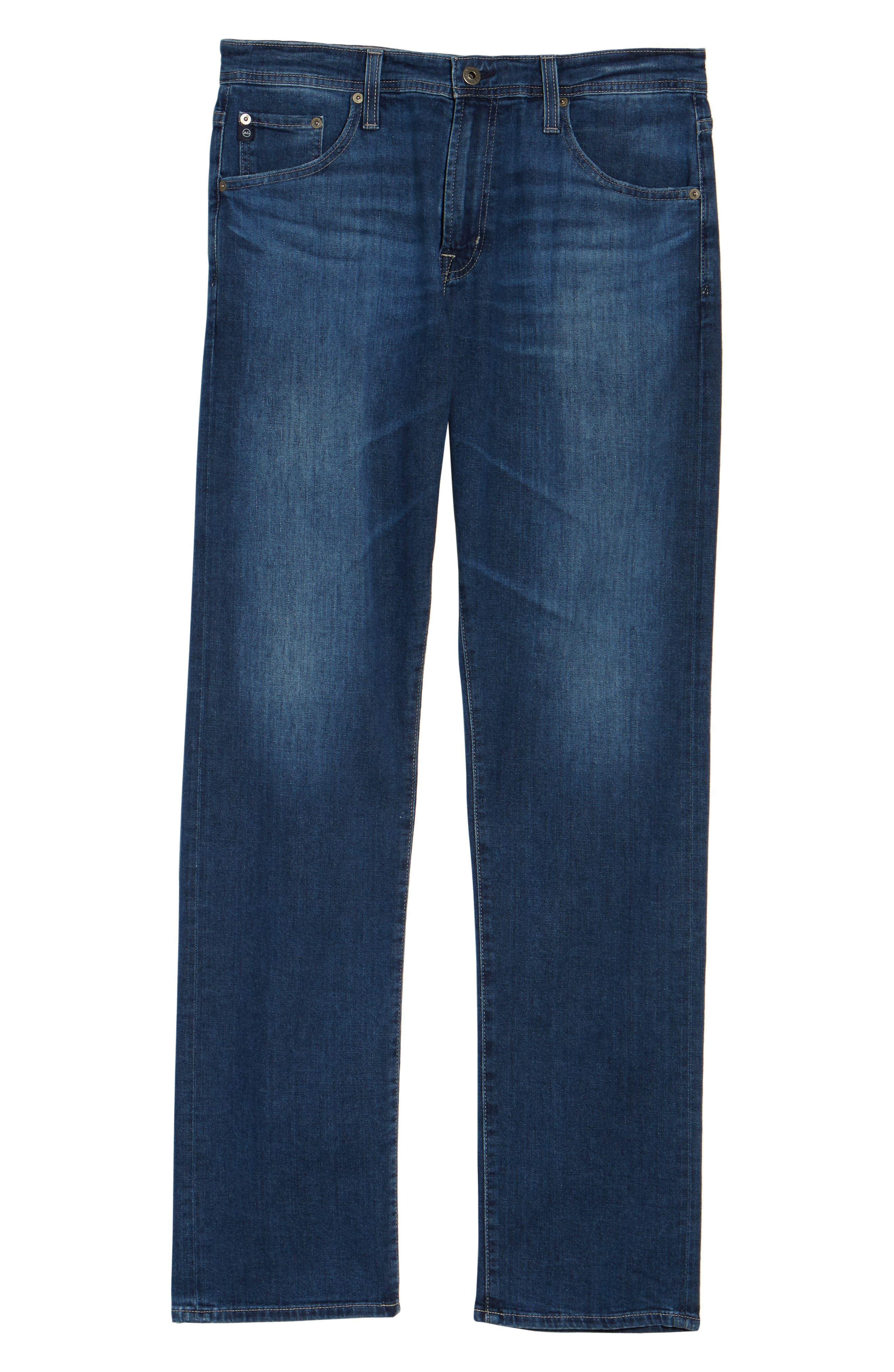 Ives Straight Leg Jeans,                             Alternate thumbnail 6, color,                             Stately