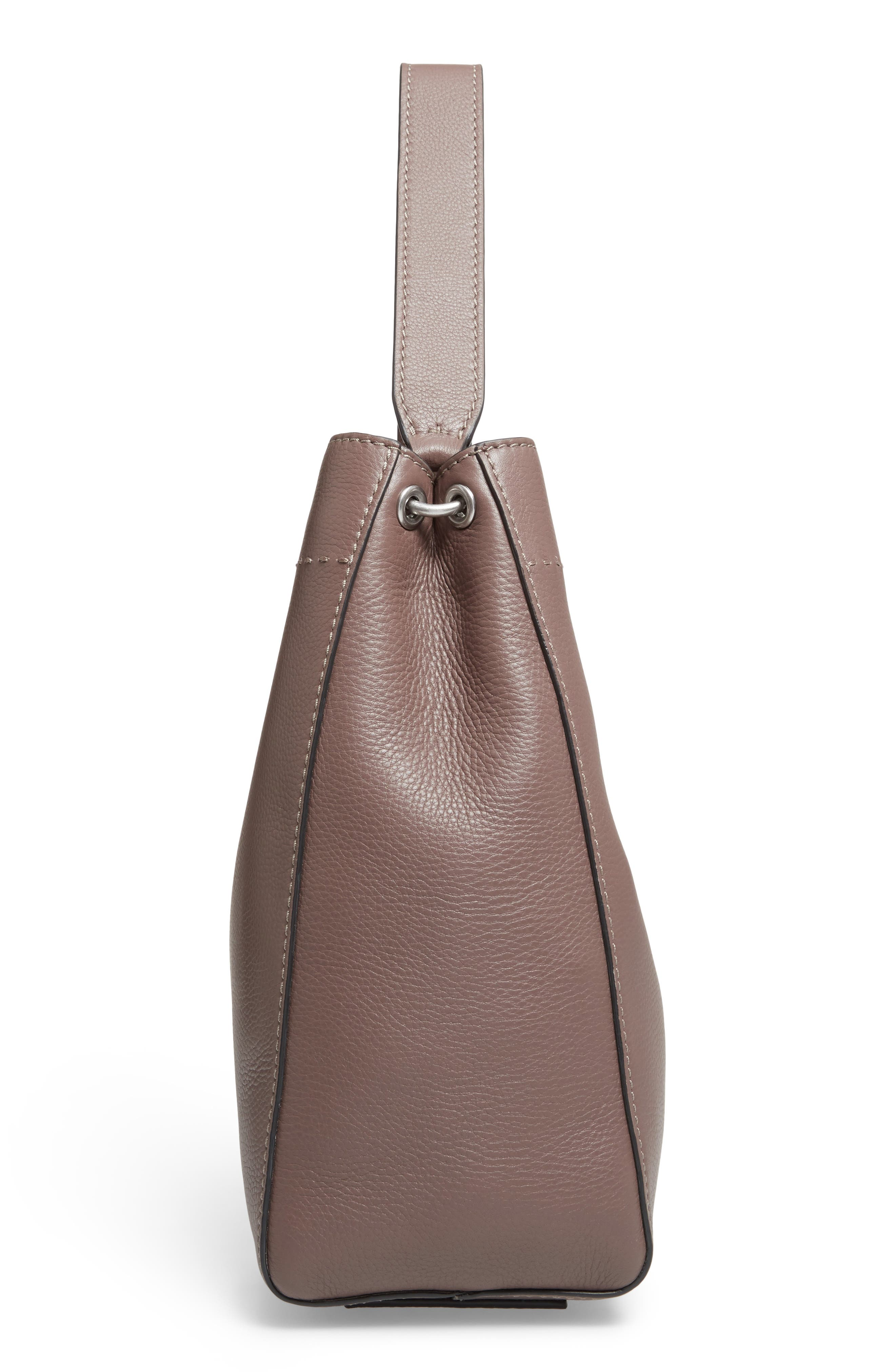 Alternate Image 5  - Tory Burch McGraw Leather Hobo