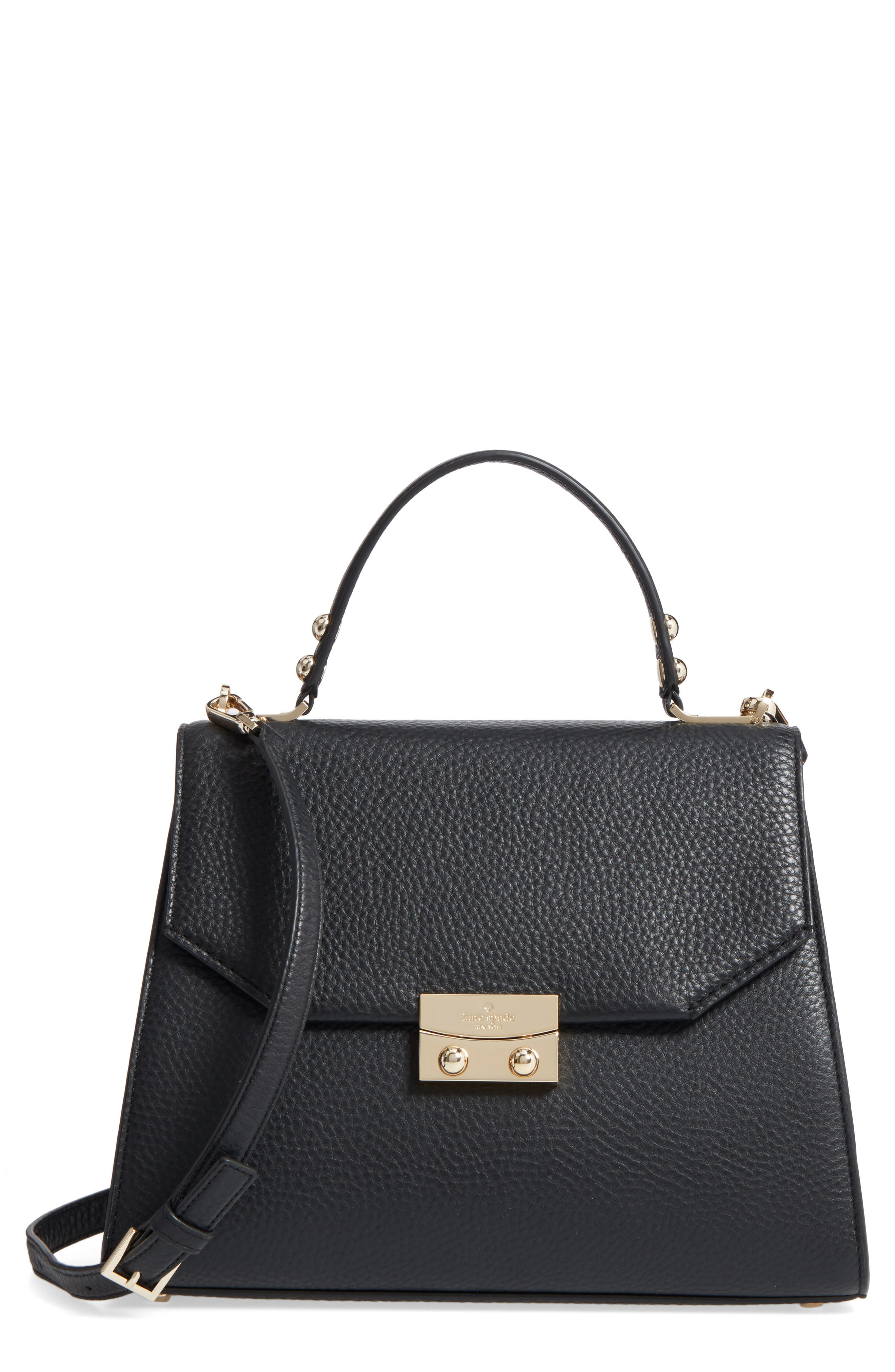 kate spade new york stewart street samira leather top handle satchel
