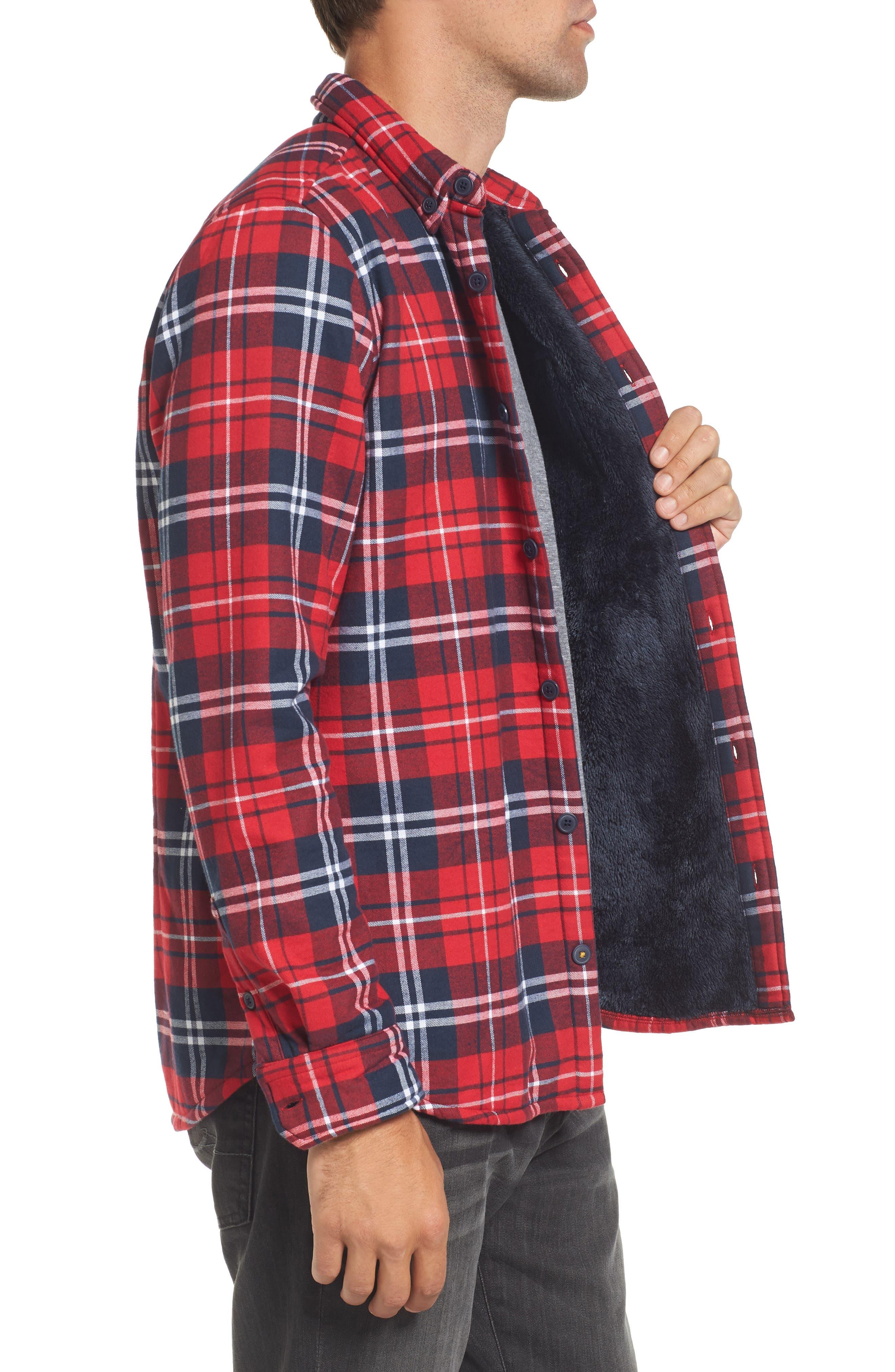 Alternate Image 3  - Barbour Hamilton Regular Fit Faux Fur Lined Shirt Jacket