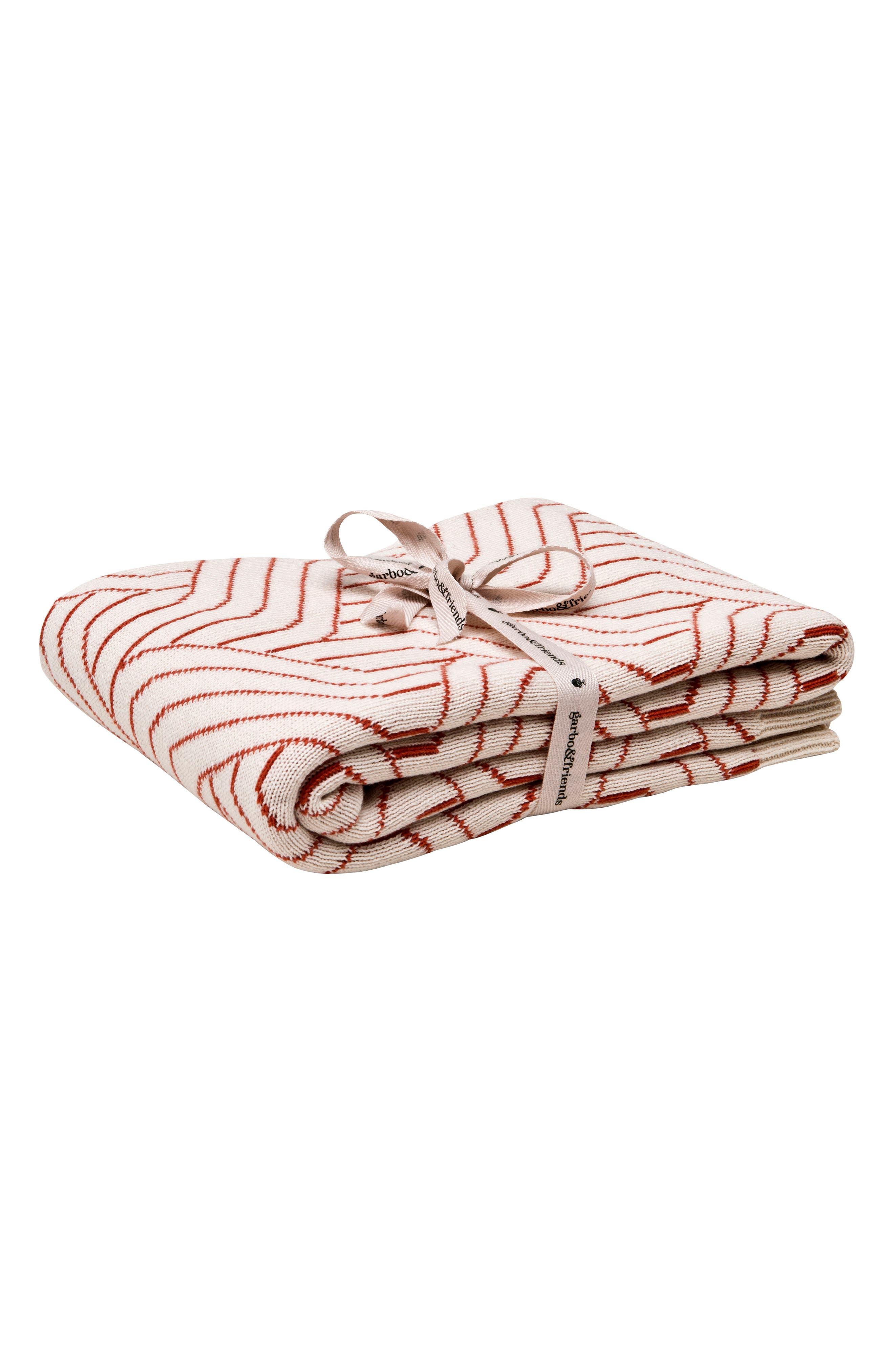 Strada Blanket,                         Main,                         color, Rust