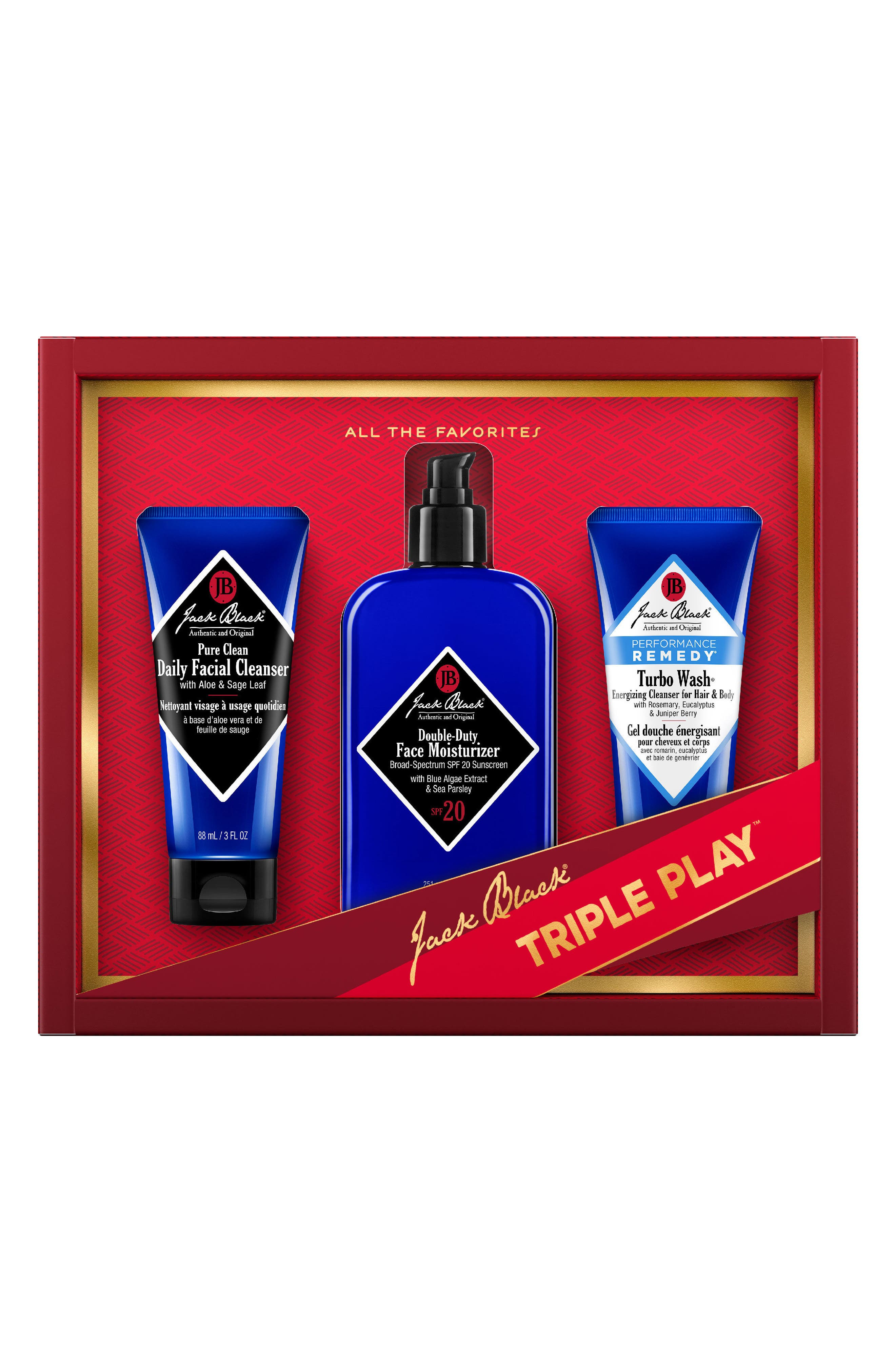 Jack Black The Triple Play Collection ($70 Value)