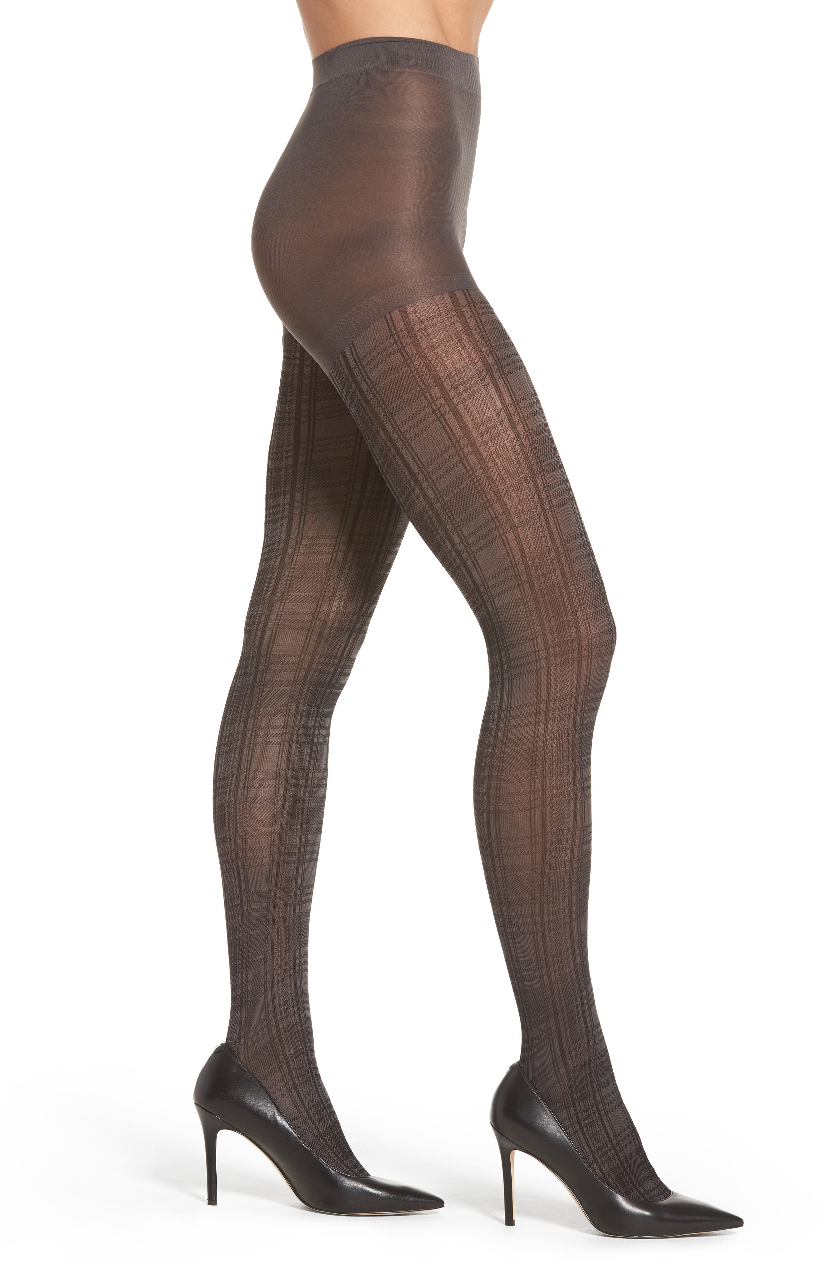 Nordstrom Plaid Tights