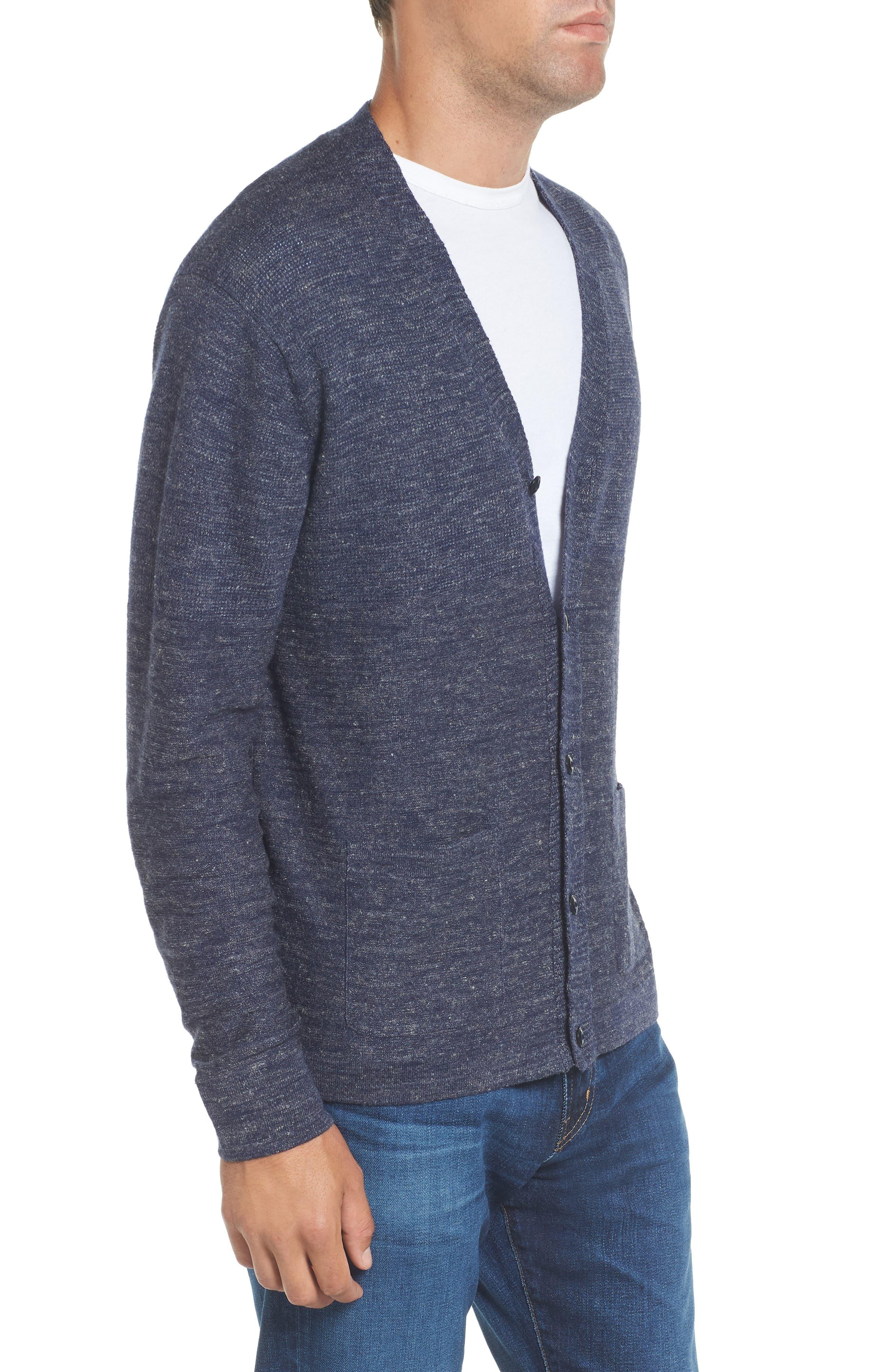 Alternate Image 3  - Grayers Wadsworth Modern Fit Wool & Linen Cardigan