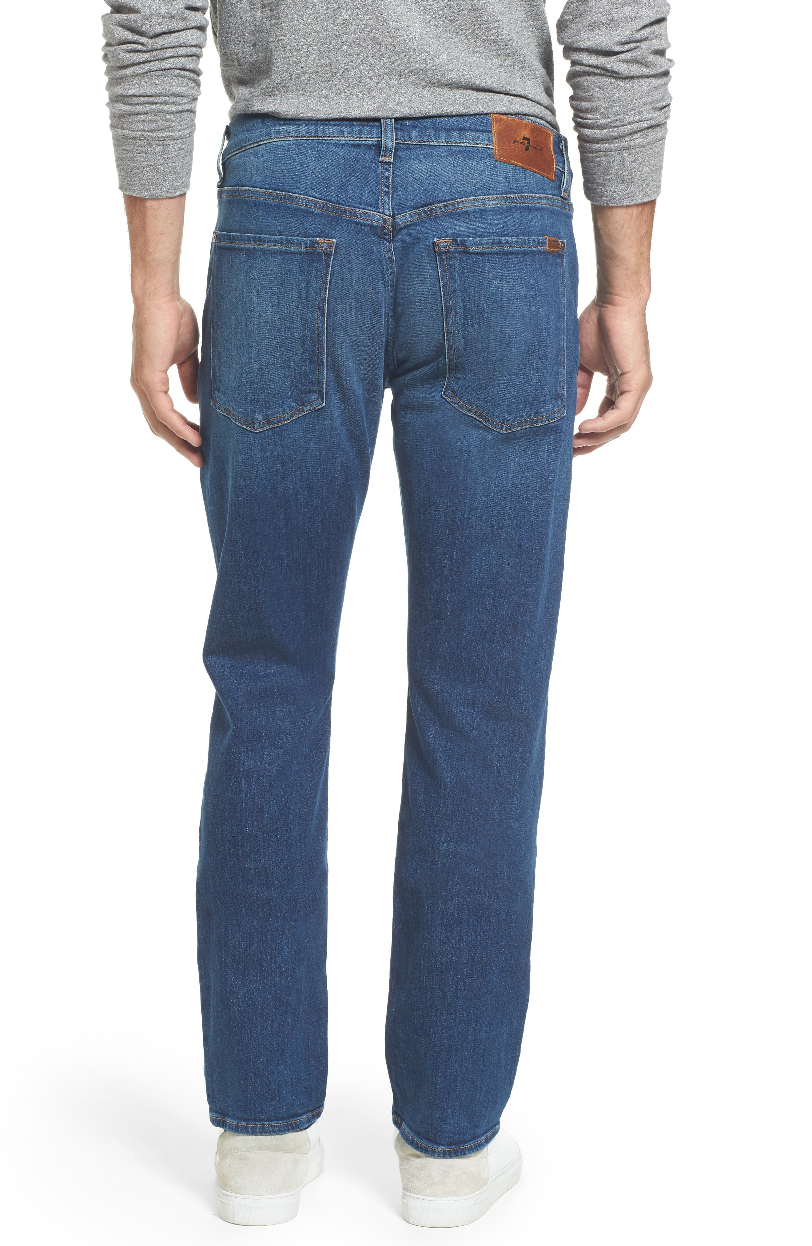 The Straight Slim Straight Leg Jeans,                             Alternate thumbnail 2, color,                             Scout