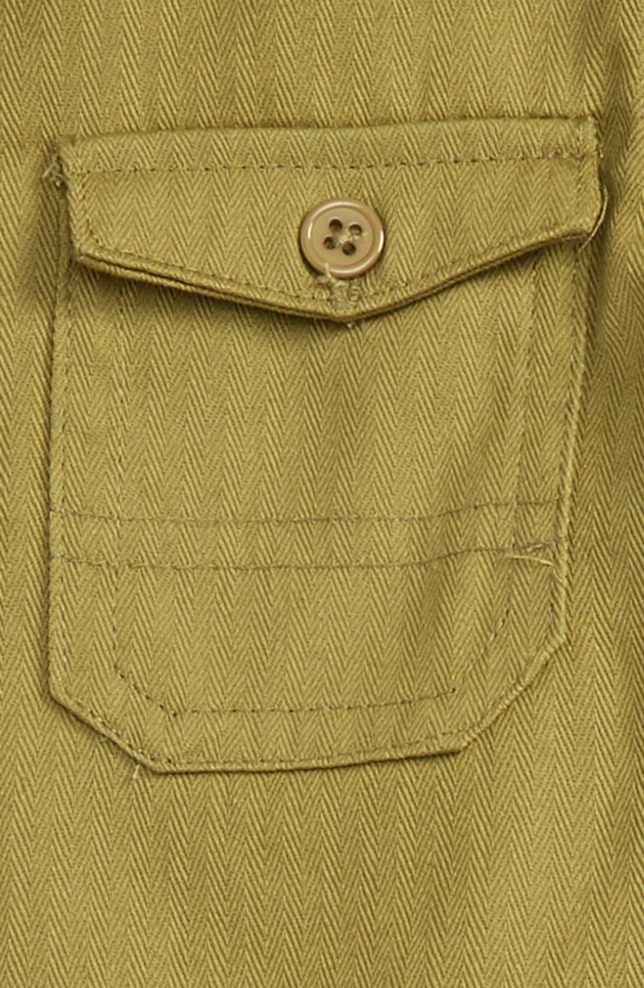 Alternate Image 2  - Hudson Kids Woven Shirt & Sweatpants Set (Baby Boys)