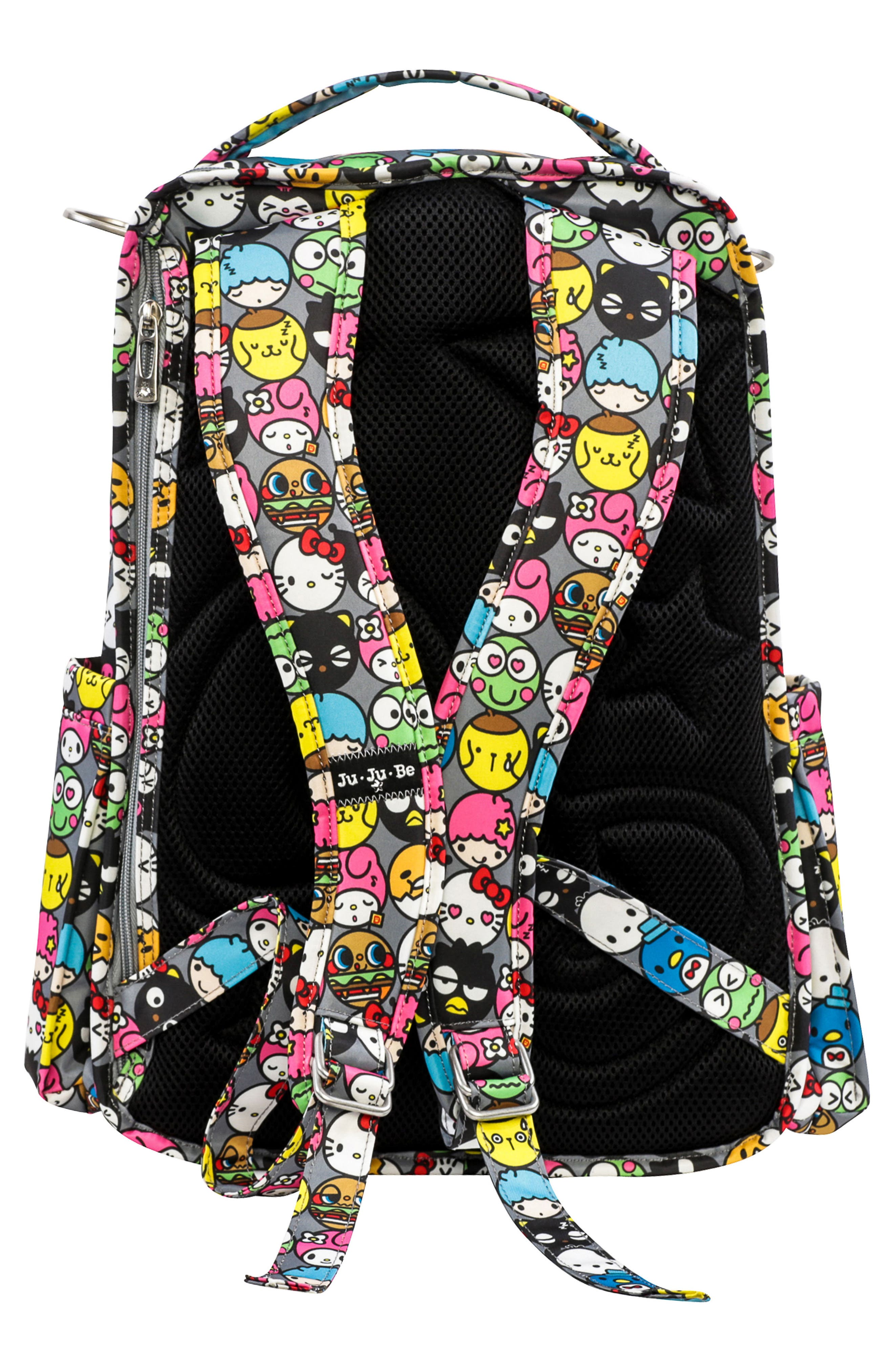 for Hello Kitty<sup>®</sup> 'Be Right Back' Diaper Backpack,                             Alternate thumbnail 2, color,                             Hello Friends