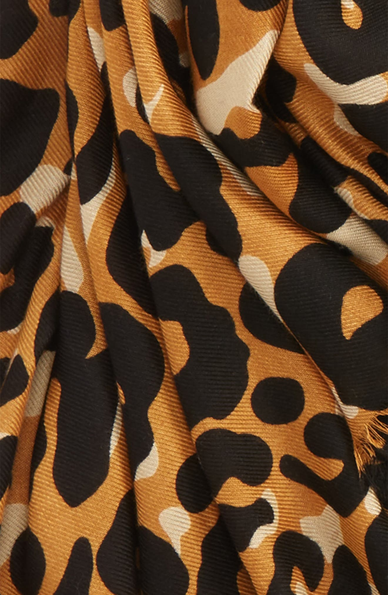 Alternate Image 3  - Sole Society Cheetah Print Scarf