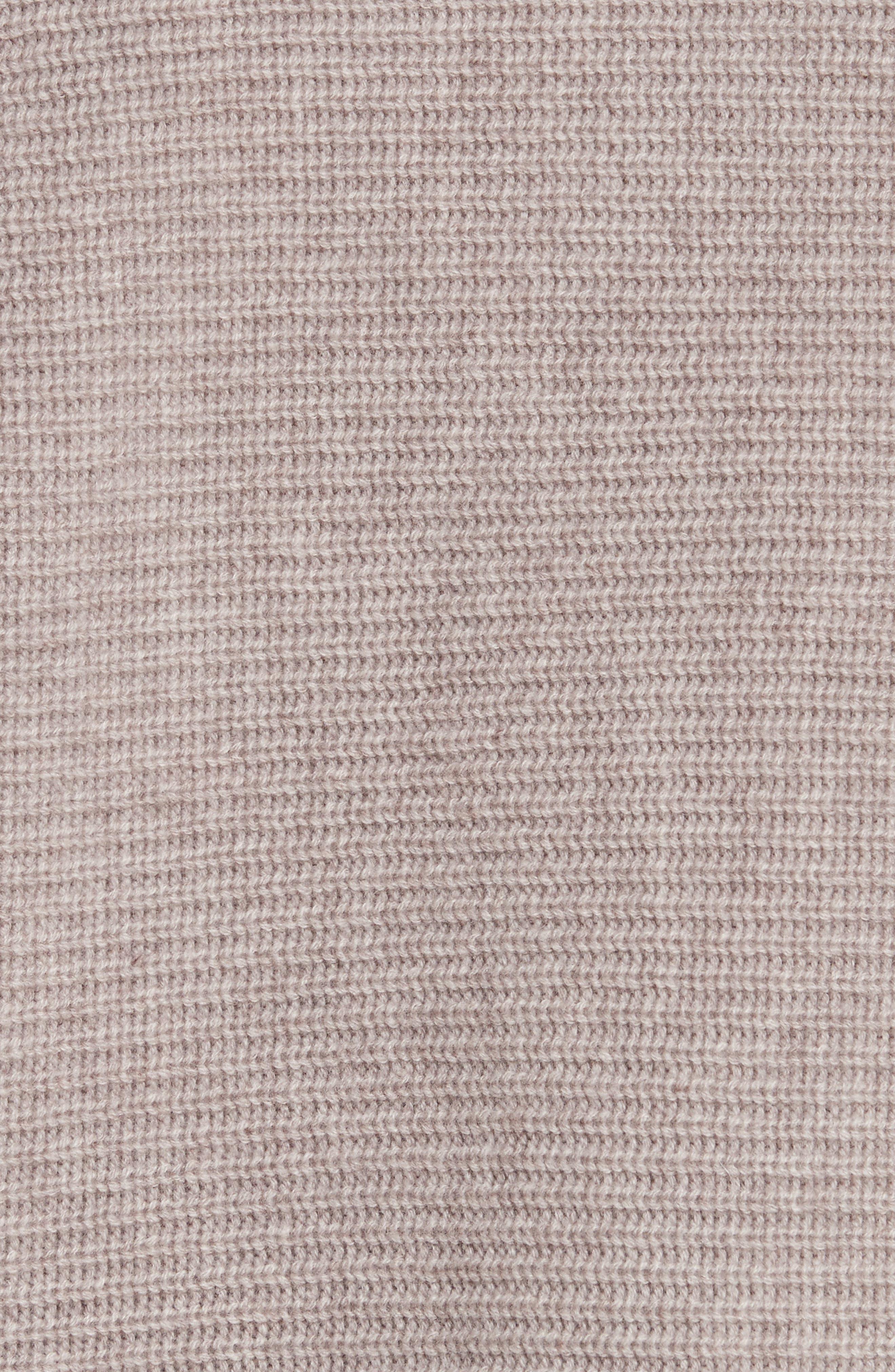 Alternate Image 5  - Allude Merino Wool & Cashmere Braid Detail Sweater